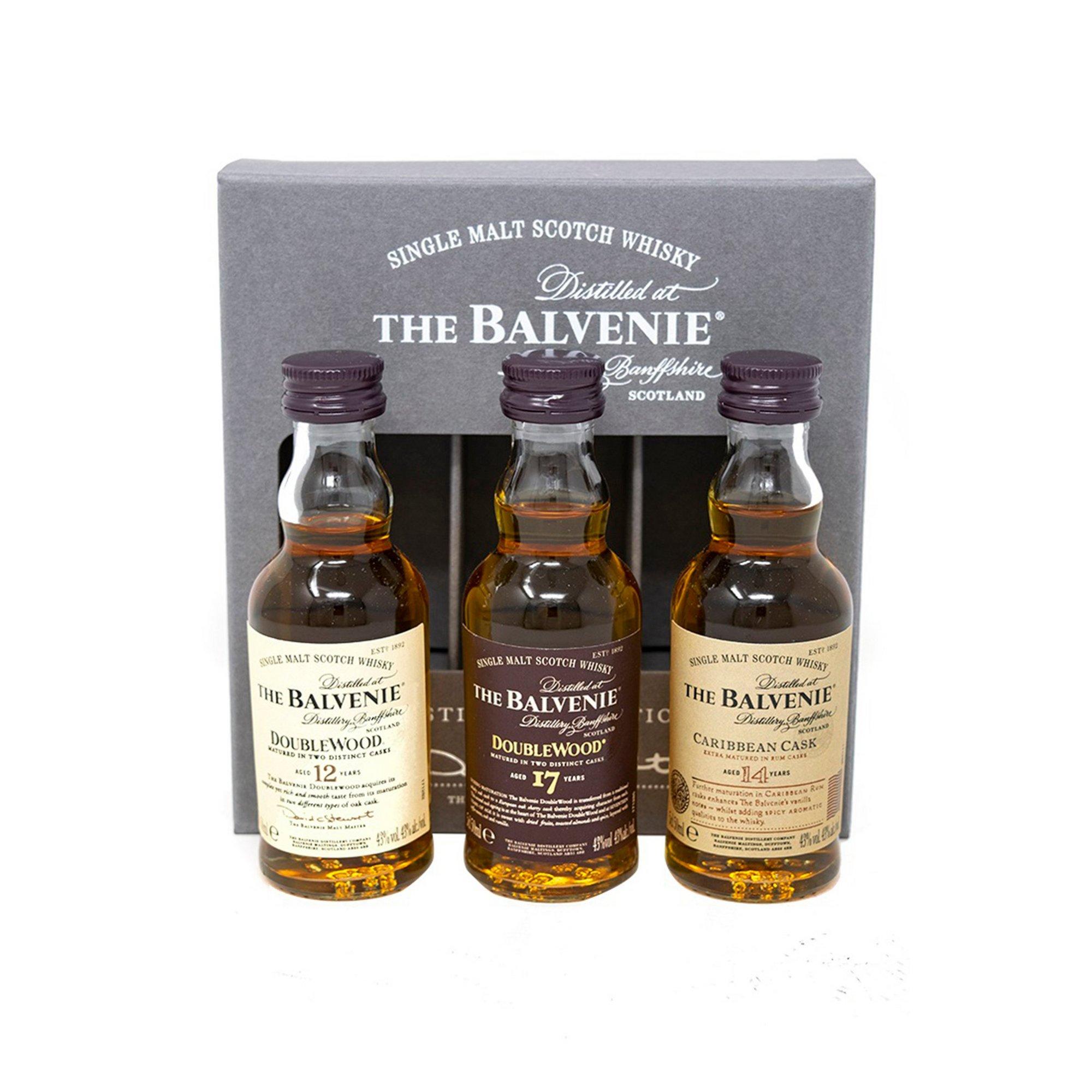 Image of Balvenie Single Malt Whisky Triple Trasting Collection