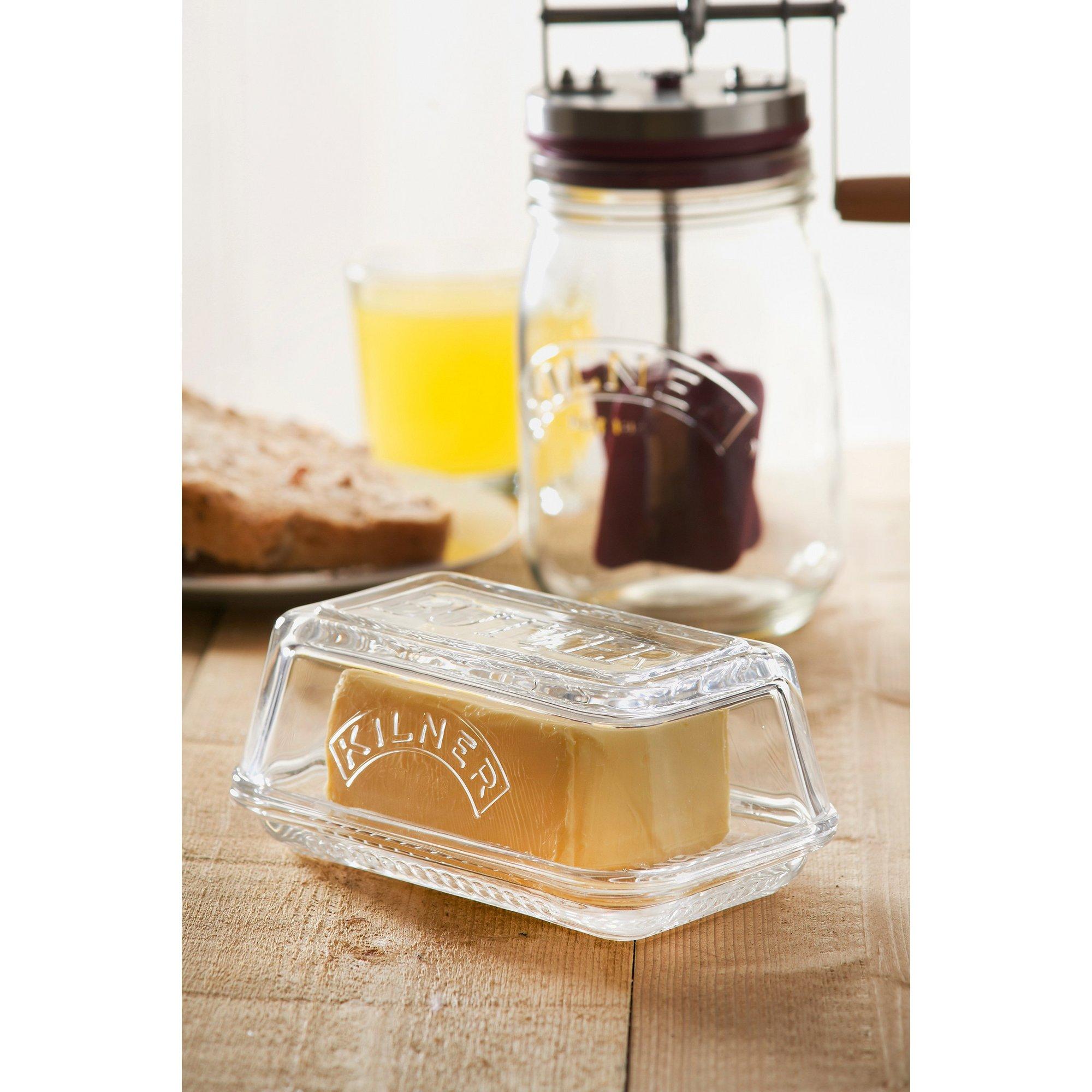 Image of Kilner Glass Butter Dish