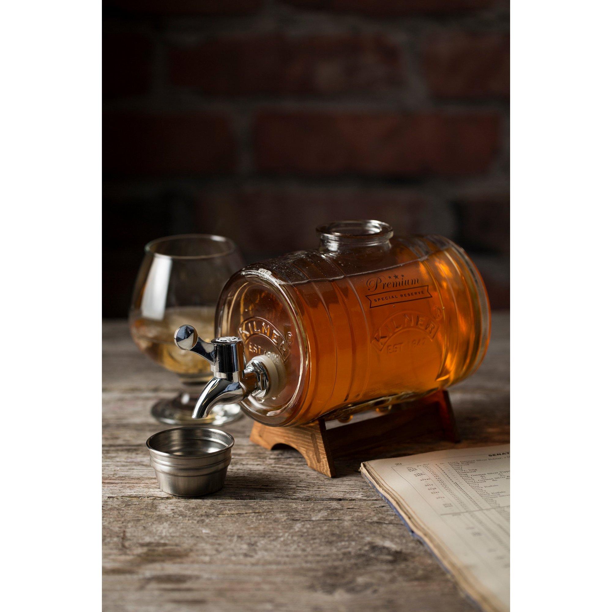 Image of Kilner 1 Litre Barrel Jar with Dispensing Tap