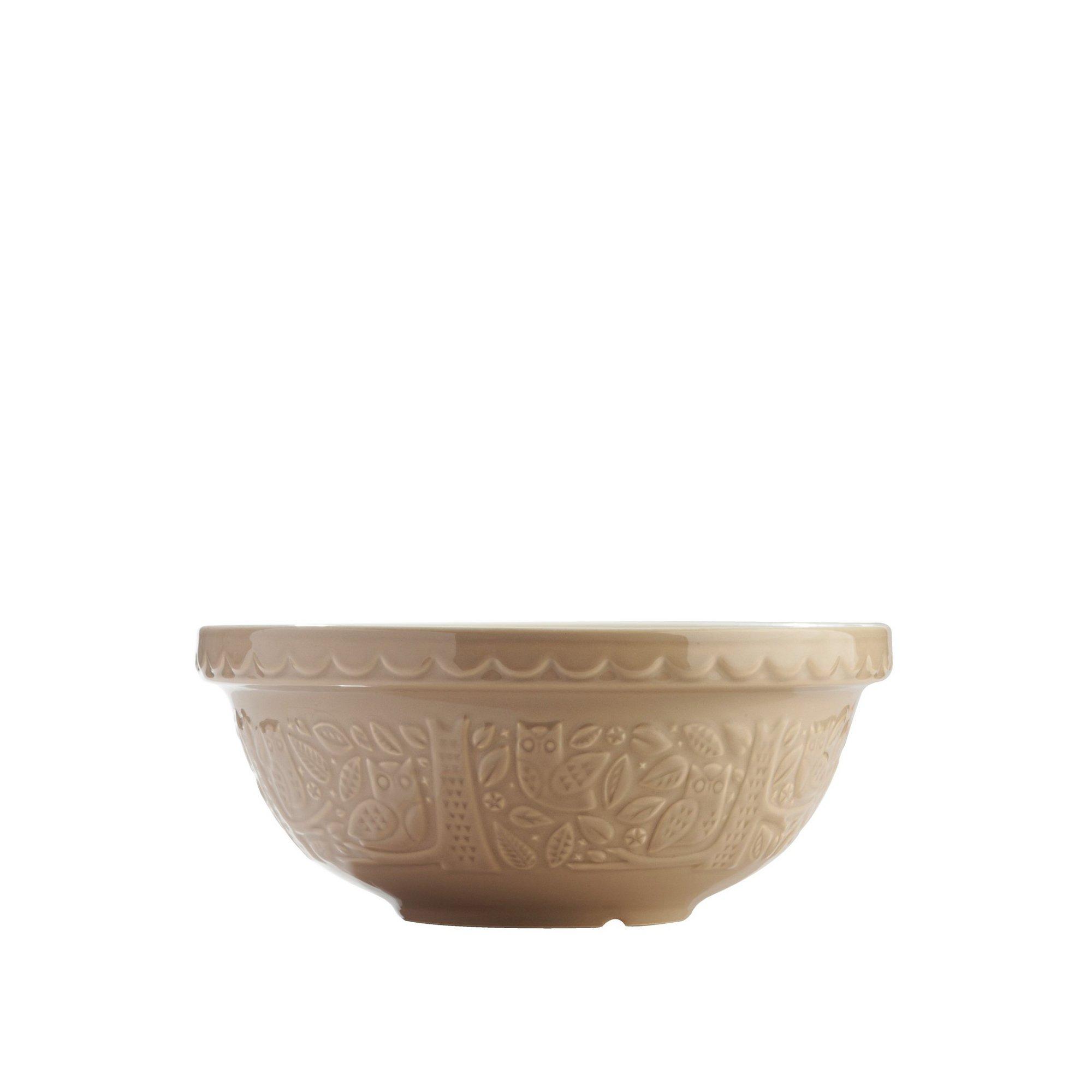 Image of Mason Cash 26cm Owl Embossed Mixing Bowl