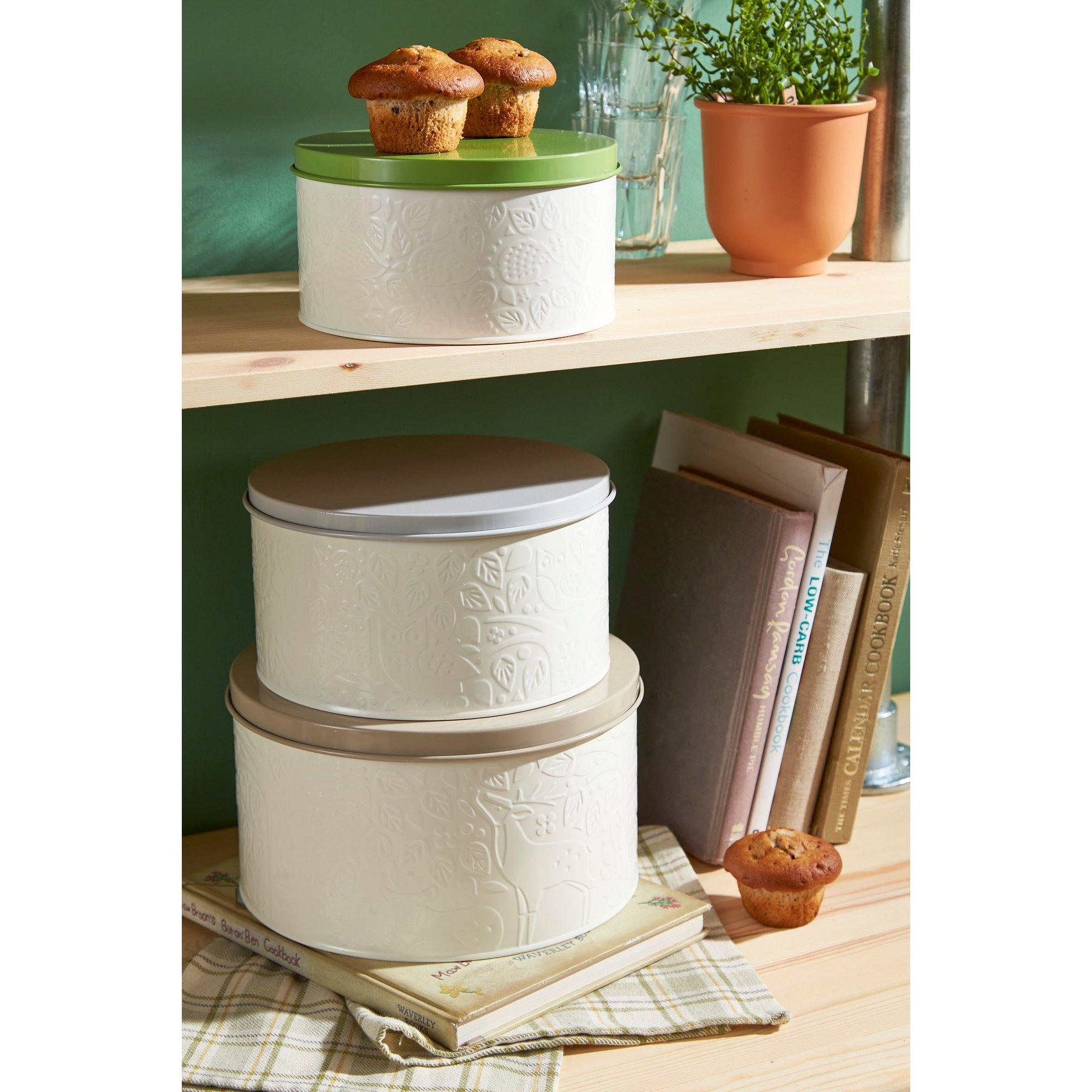 Image of Mason Cash In The Forest Set of 3 Cake Tins