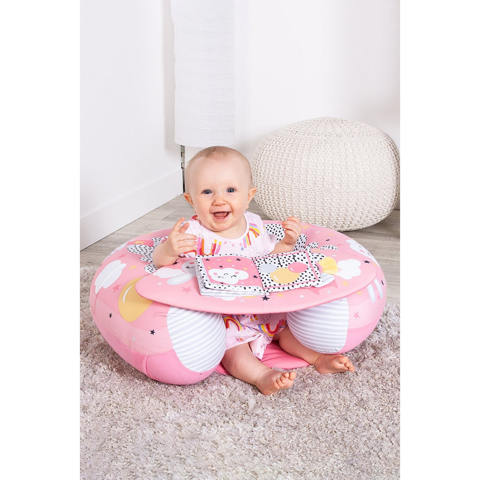 Image of Red Kite Dreamy Meadow Sit Me Up Activity Baby Play Ring