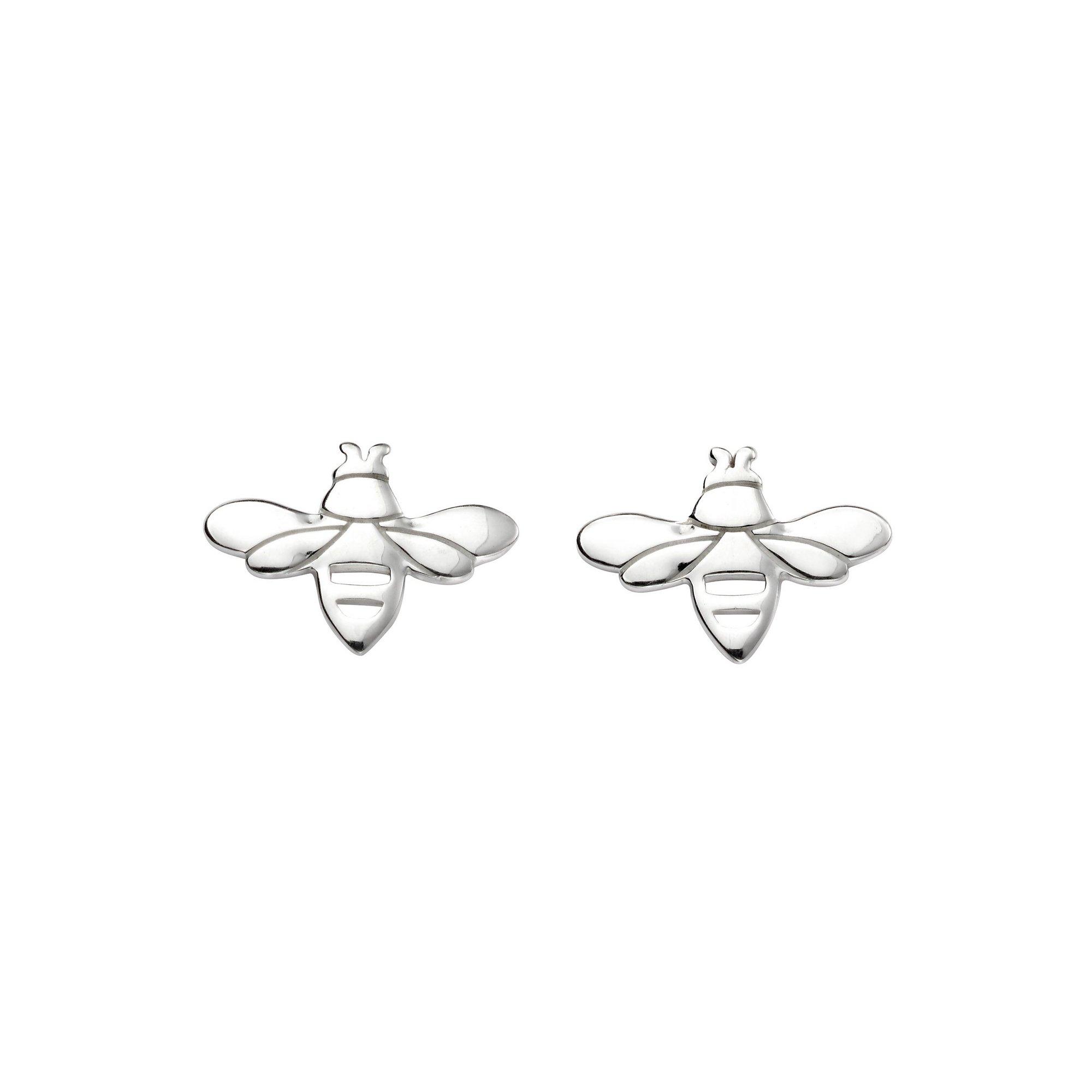 Image of Beginnings Bee Stud Earrings