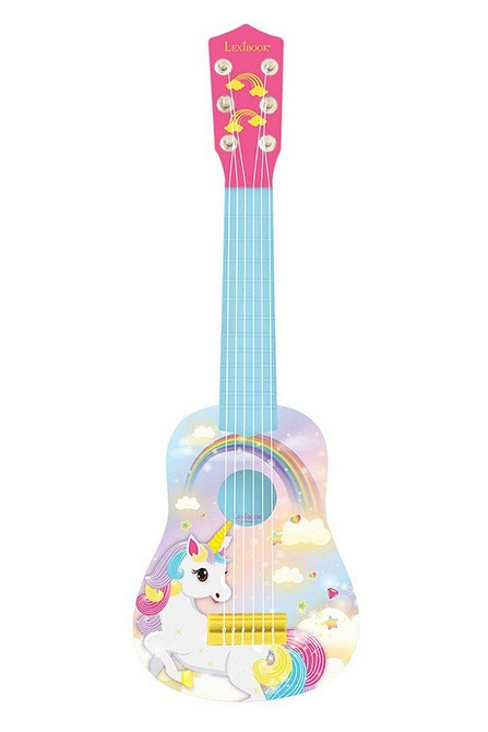 Image for Lexibook Unicorn My First Guitar from studio