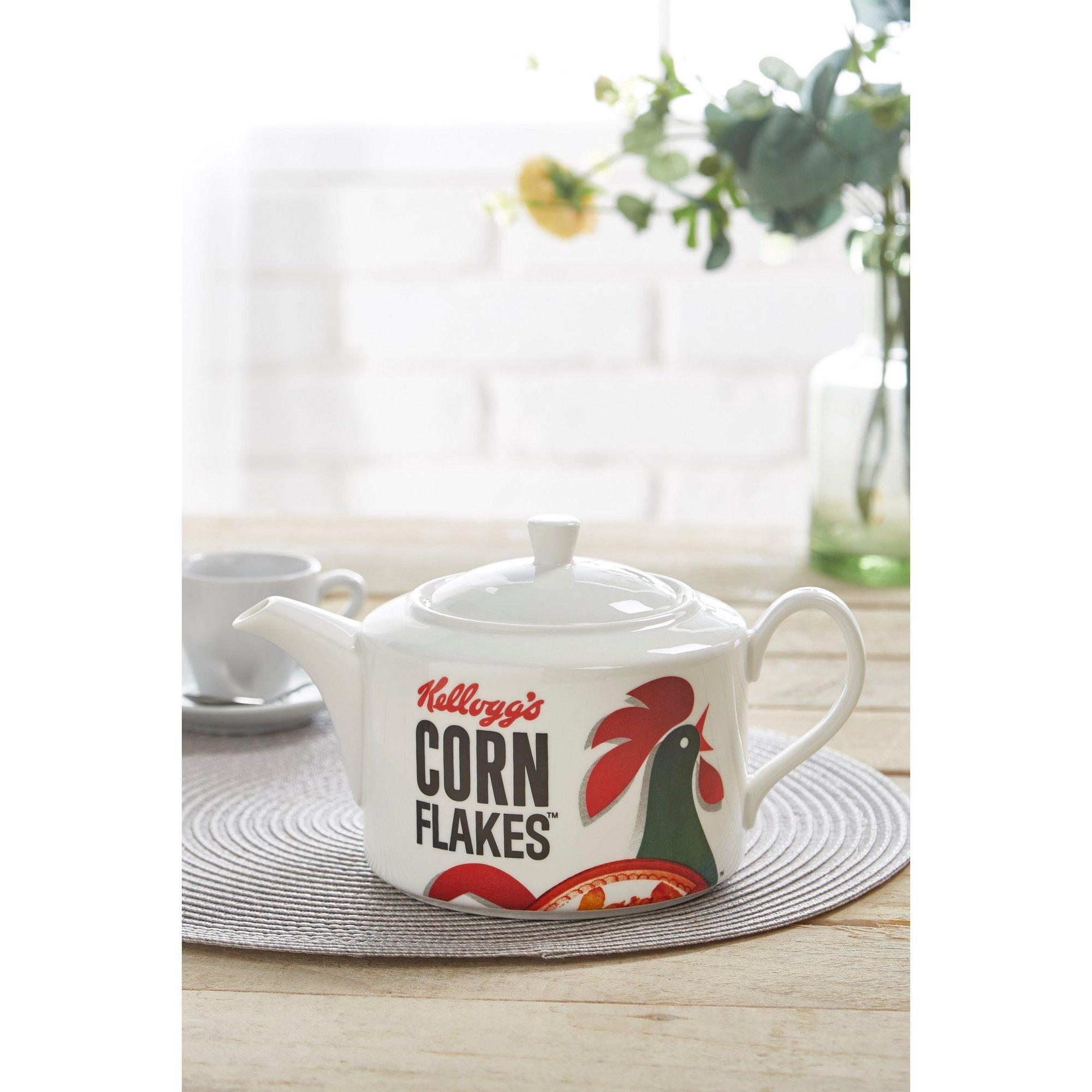 Image of Kelloggs Corn Flakes Porcelain Teapot