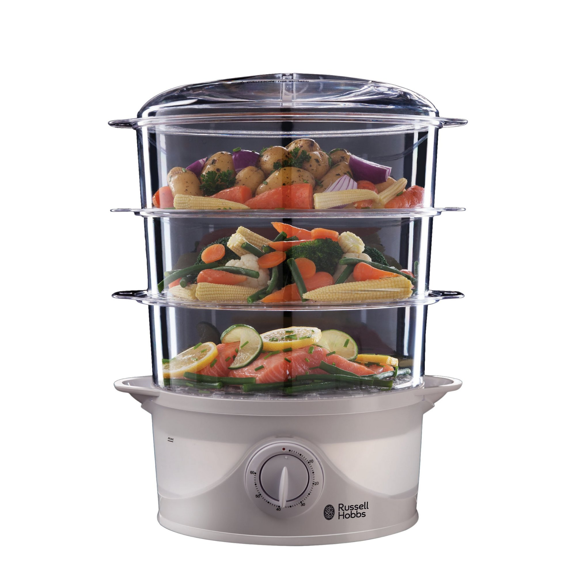 Image of Russell Hobbs 3 Tier Food Steamer