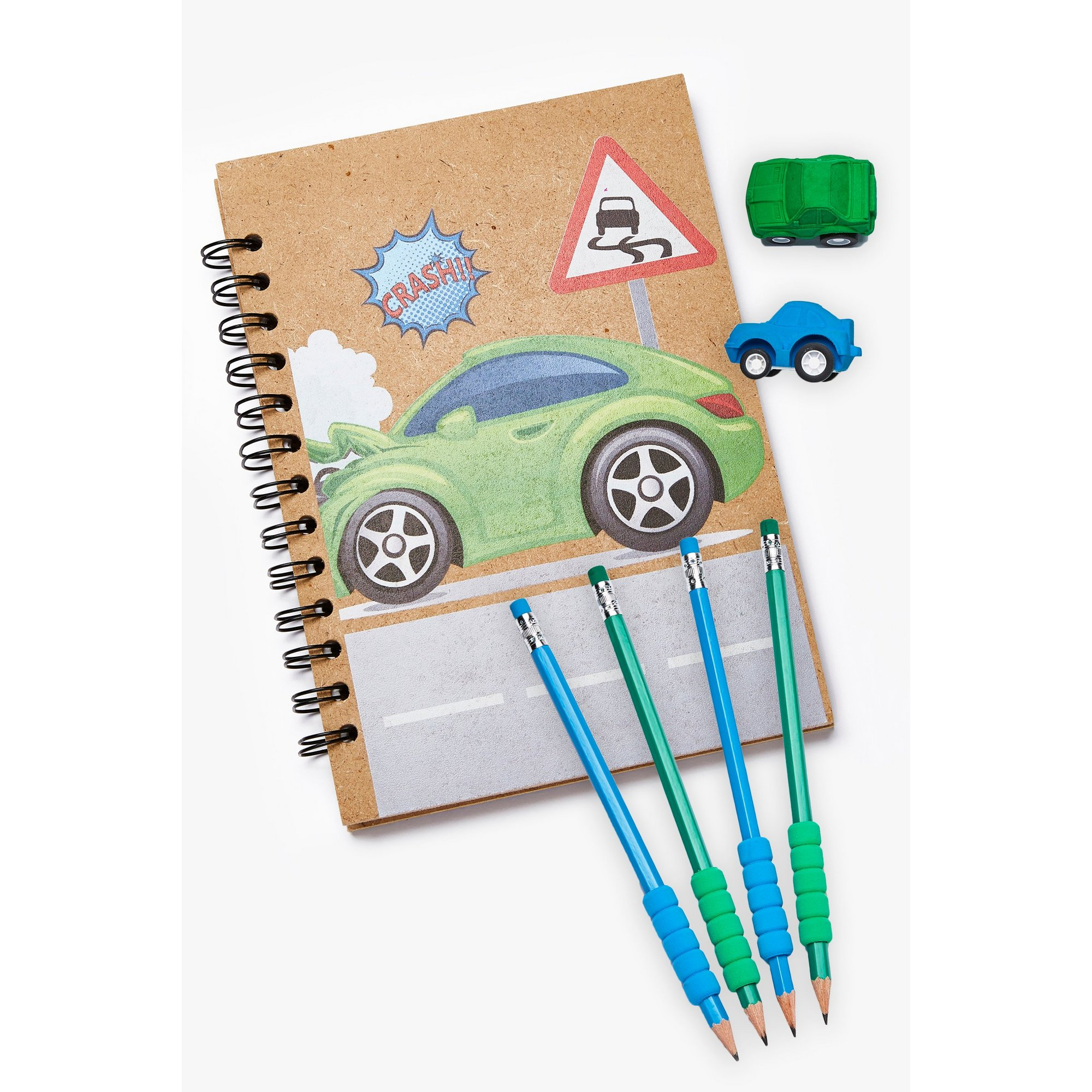 Image of Car Crash Wooden Gift Set