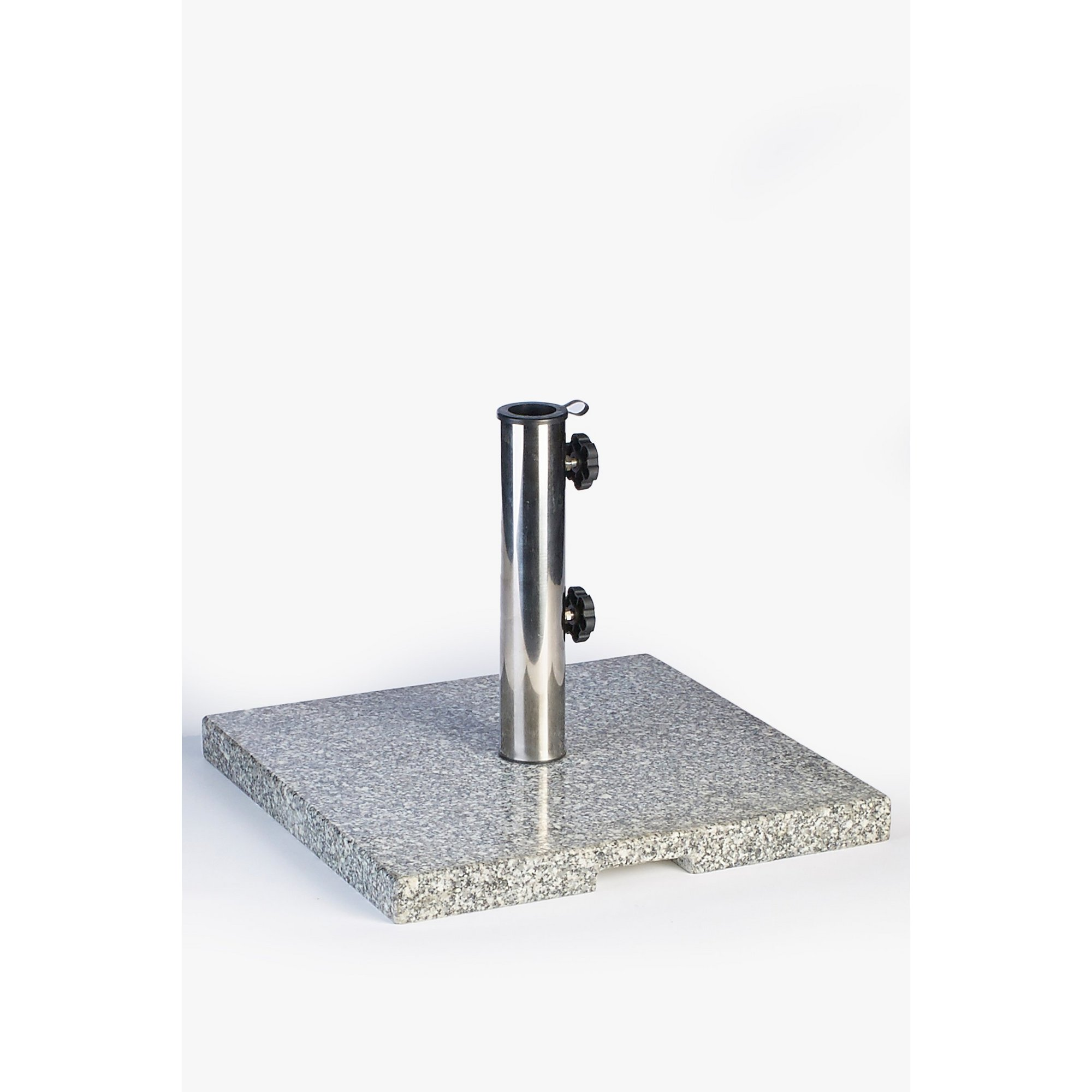 Image of 20kg Square Granite Parasol Base