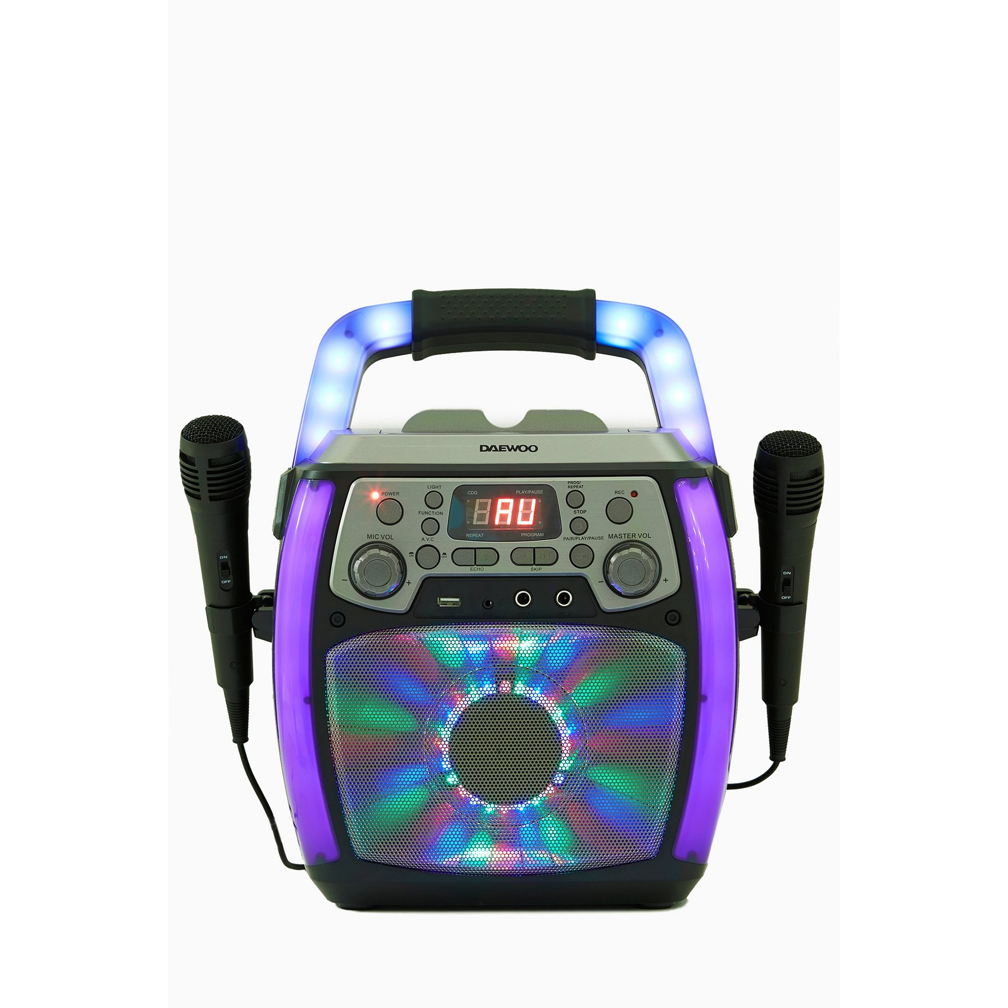 Image of Daewoo Bluetooth Karaoke Machine