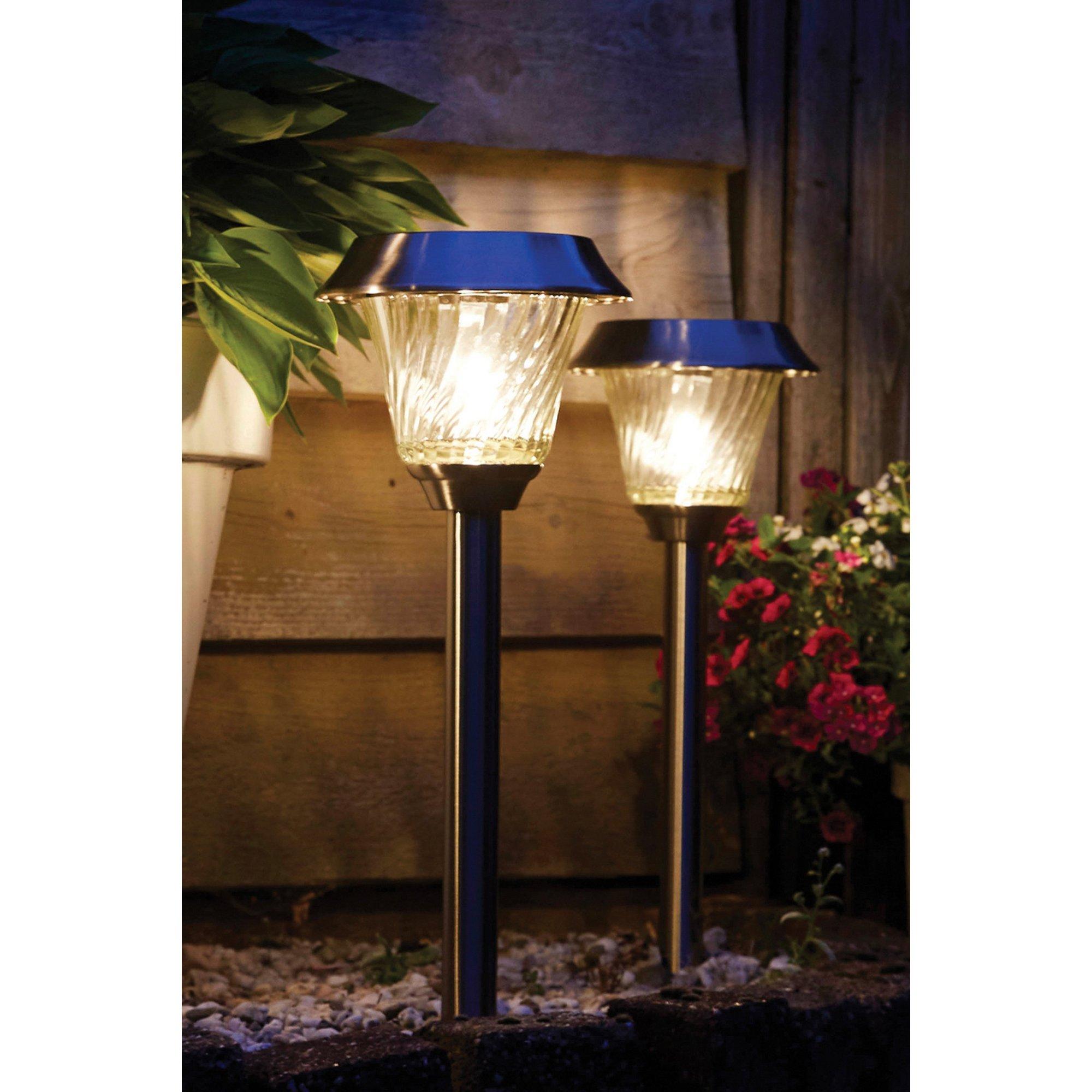 Image of Luxform Lighting Mizar Intelligent Solar LED Spike Light