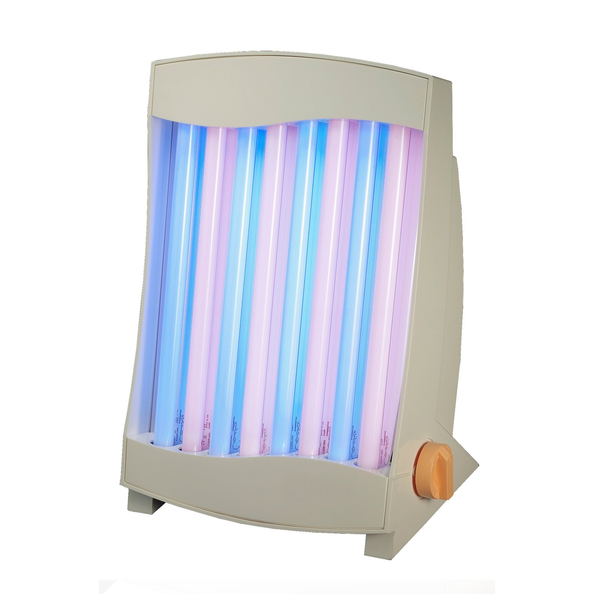 Image of 2-in-1 Luminotherapy Facial Tanner - 8 UV-A Tubes