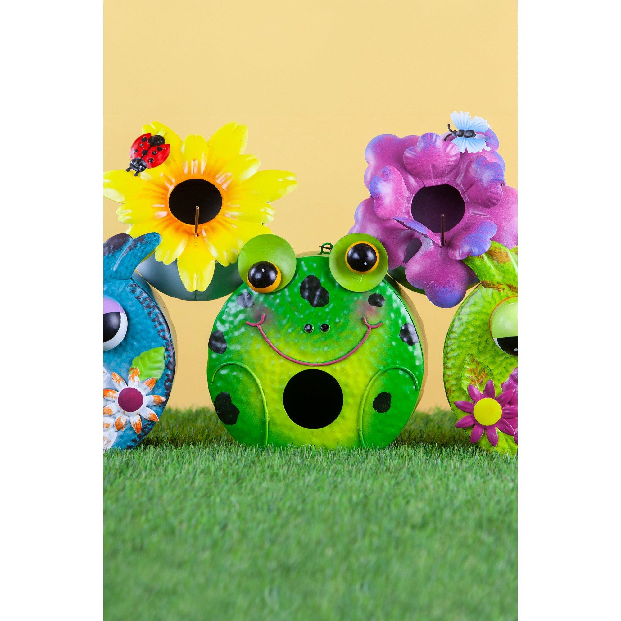 Image of Frog Garden Birdhouse
