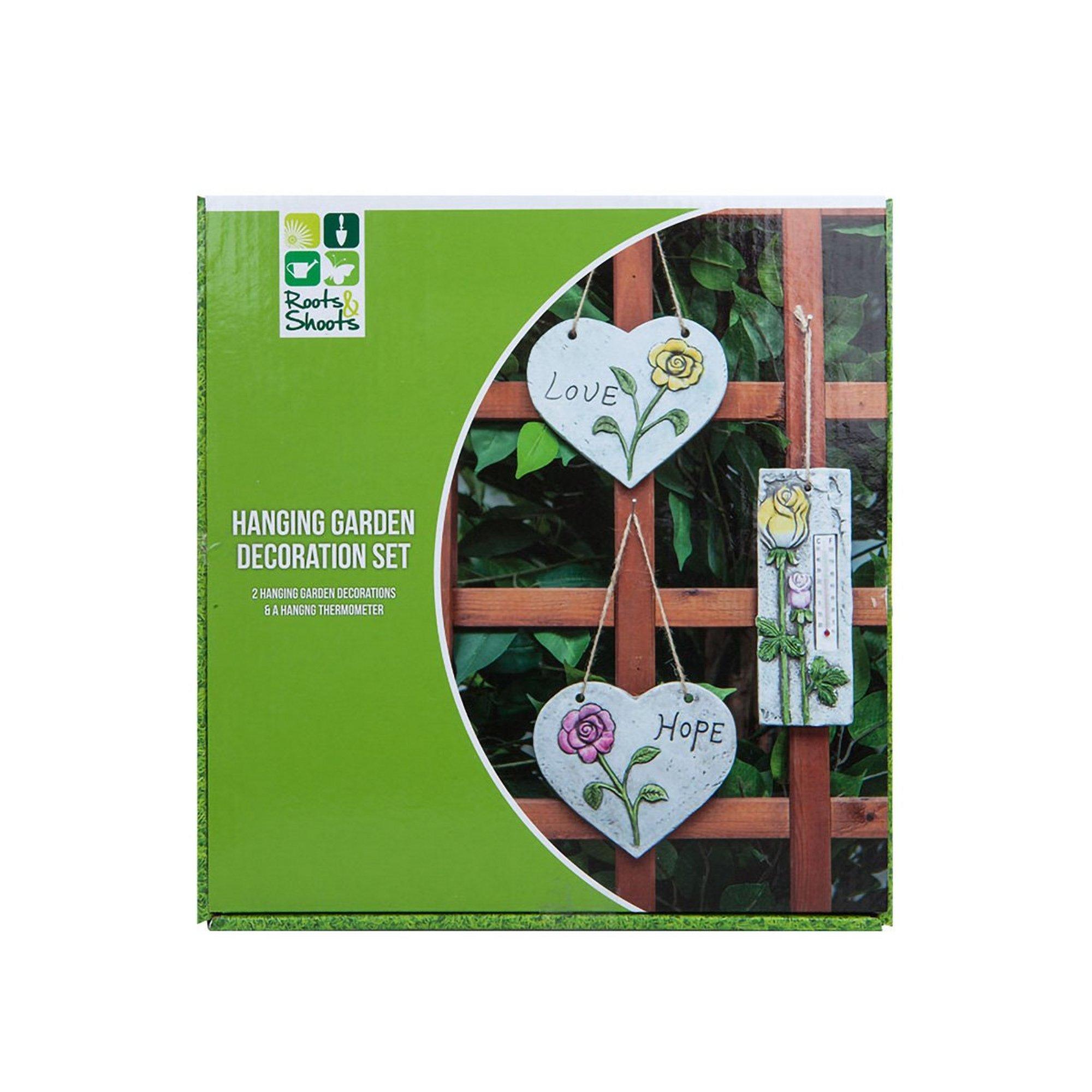 Image of 3 Piece Garden Decoration Set