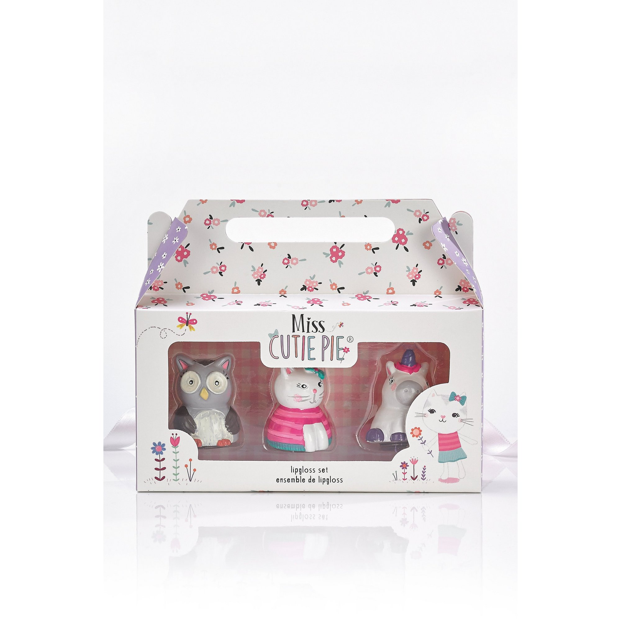 Image of Miss Cutie Pie Lip Gloss Character Set
