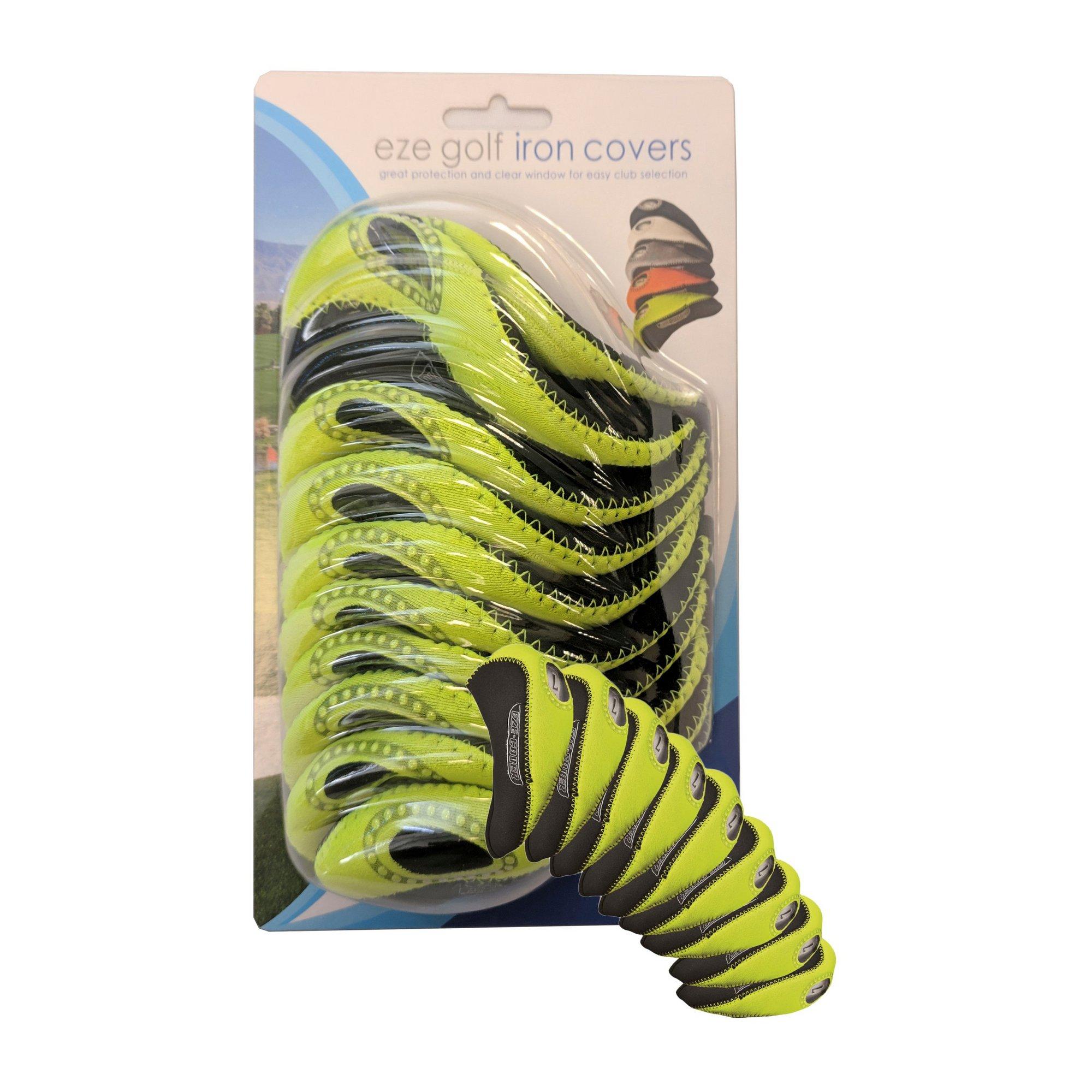 Image of Eze Golf Neoprene Golf Iron Covers
