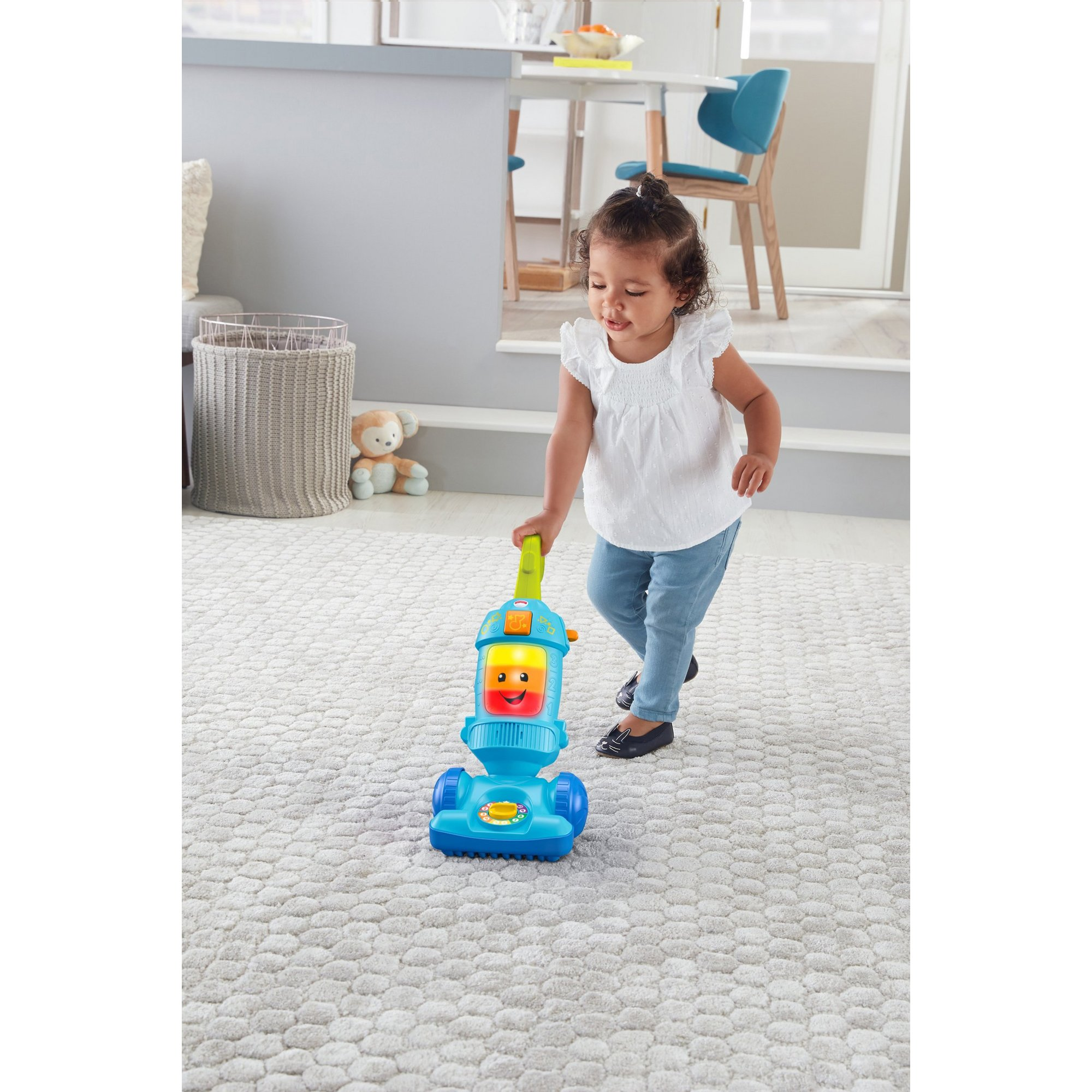 Image of Fisher Price Laugh and Learn Vacuum