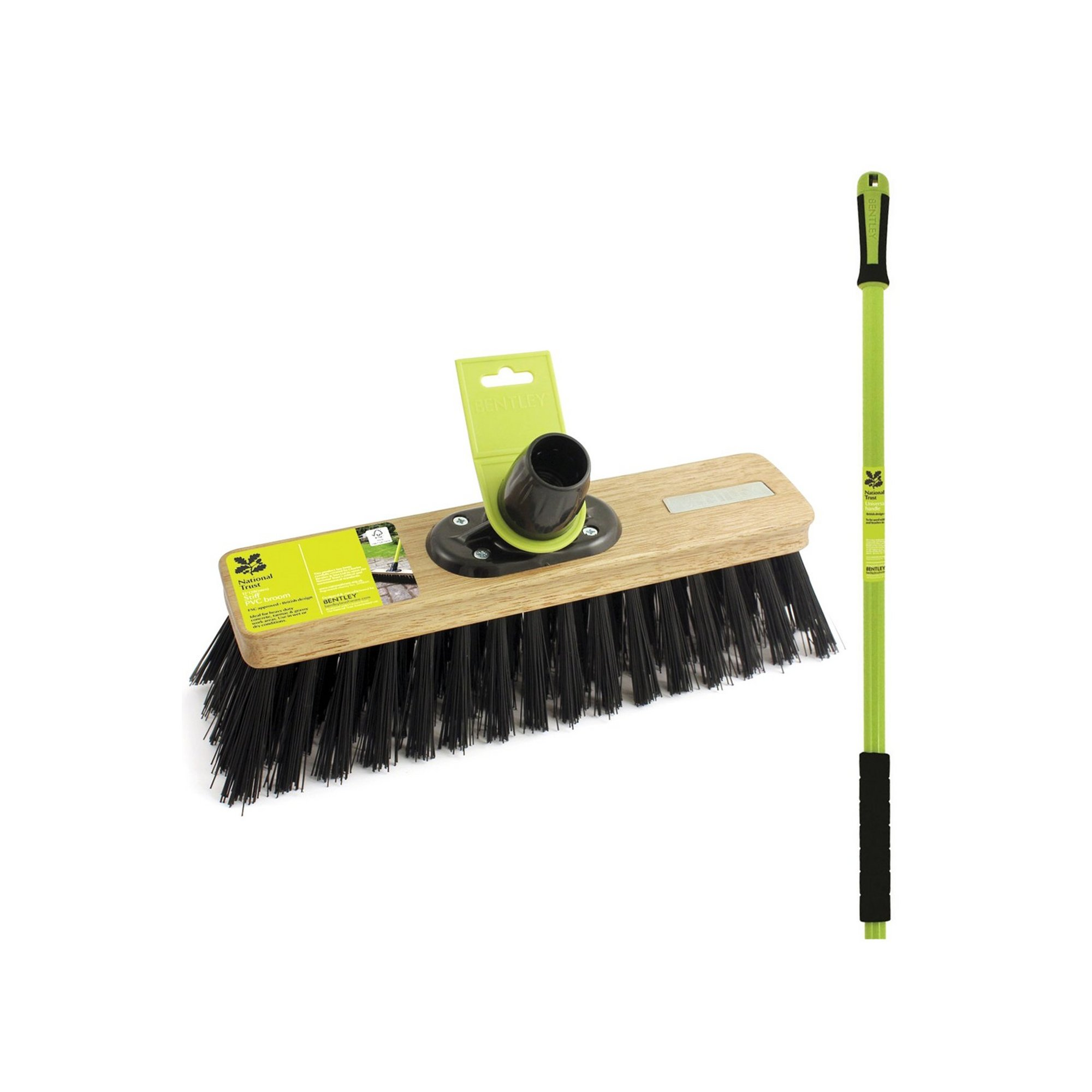 Image of Charles Bentley FSC Stiff Sweeping Broom
