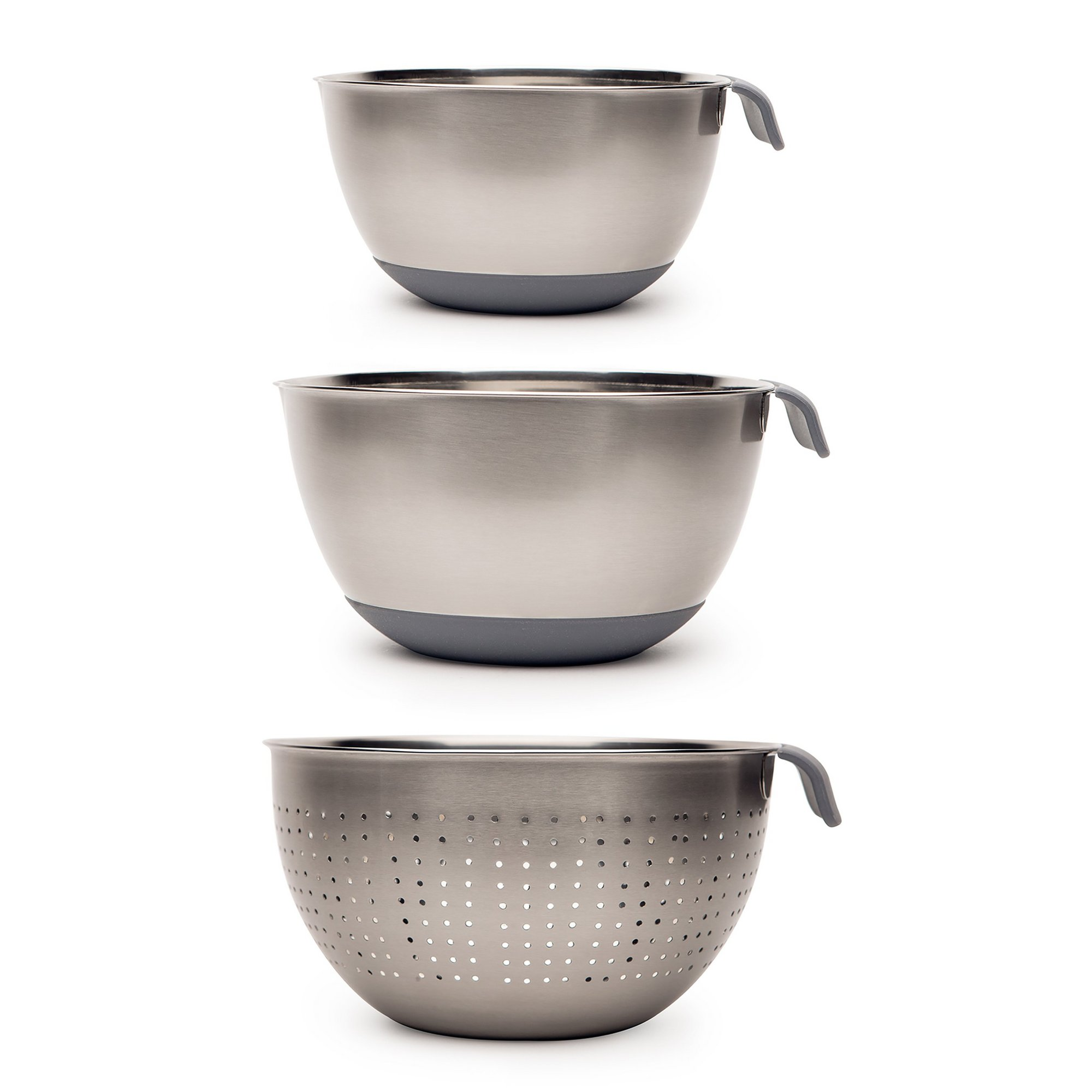 Image of Haden Perth Colander and 2 Piece Mixing Bowl Set