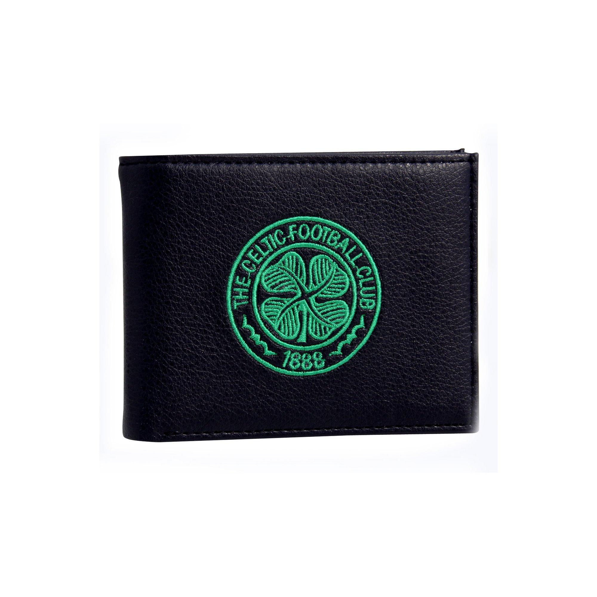 Image of Celtic Embroidered Crest Wallet