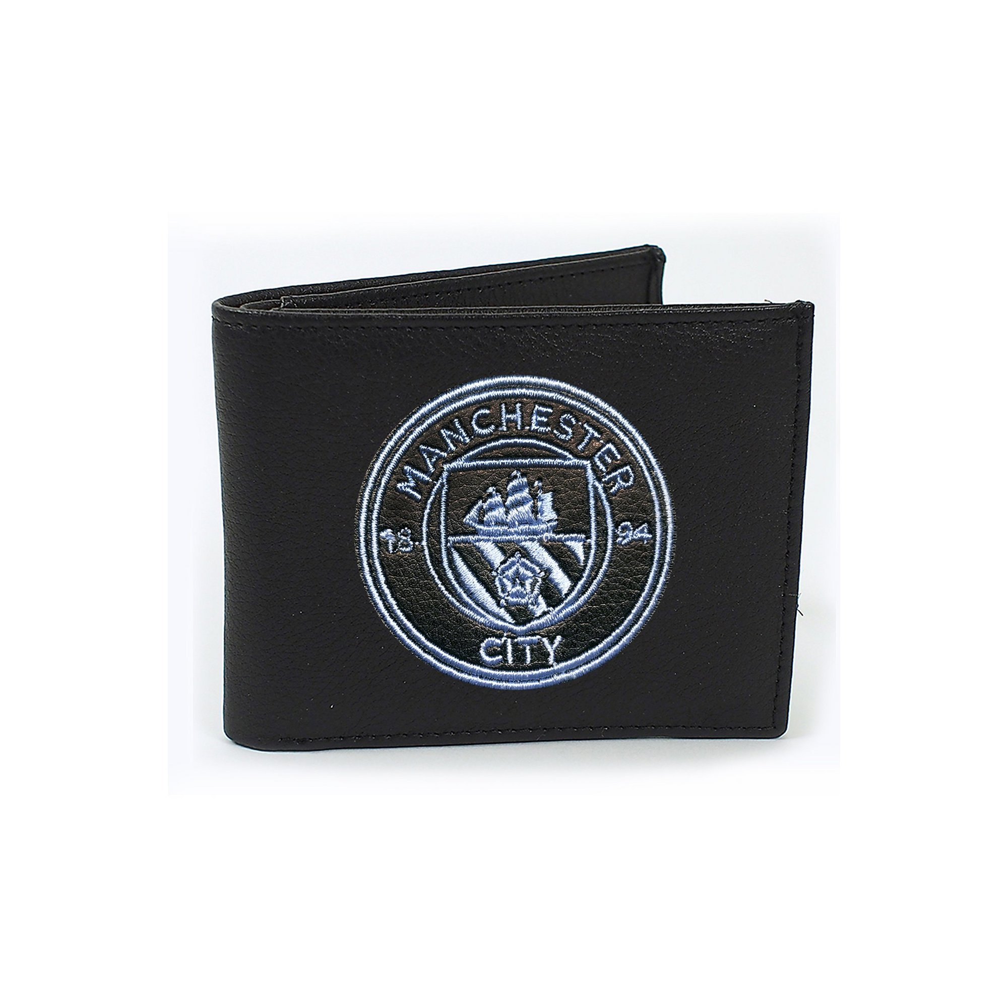 Image of Manchester City Embroidered Crest Wallet