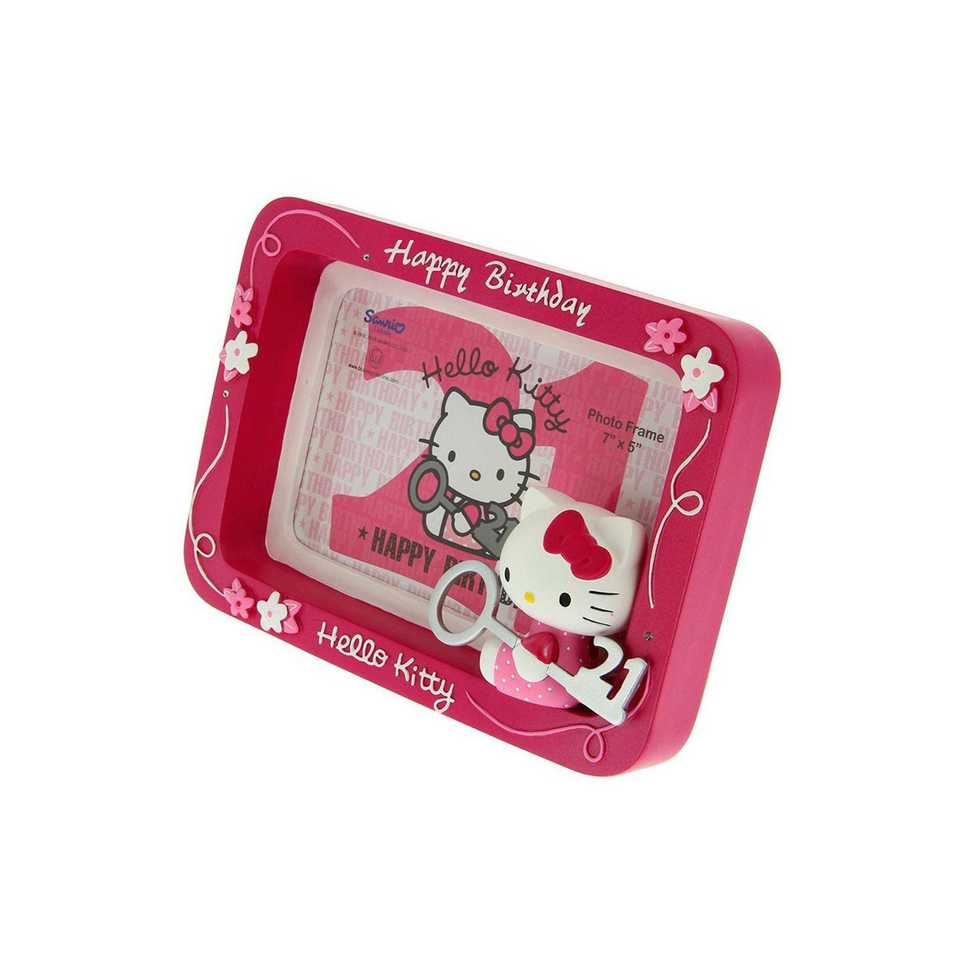 Image of Hello Kitty 21st Birthday Key Frame