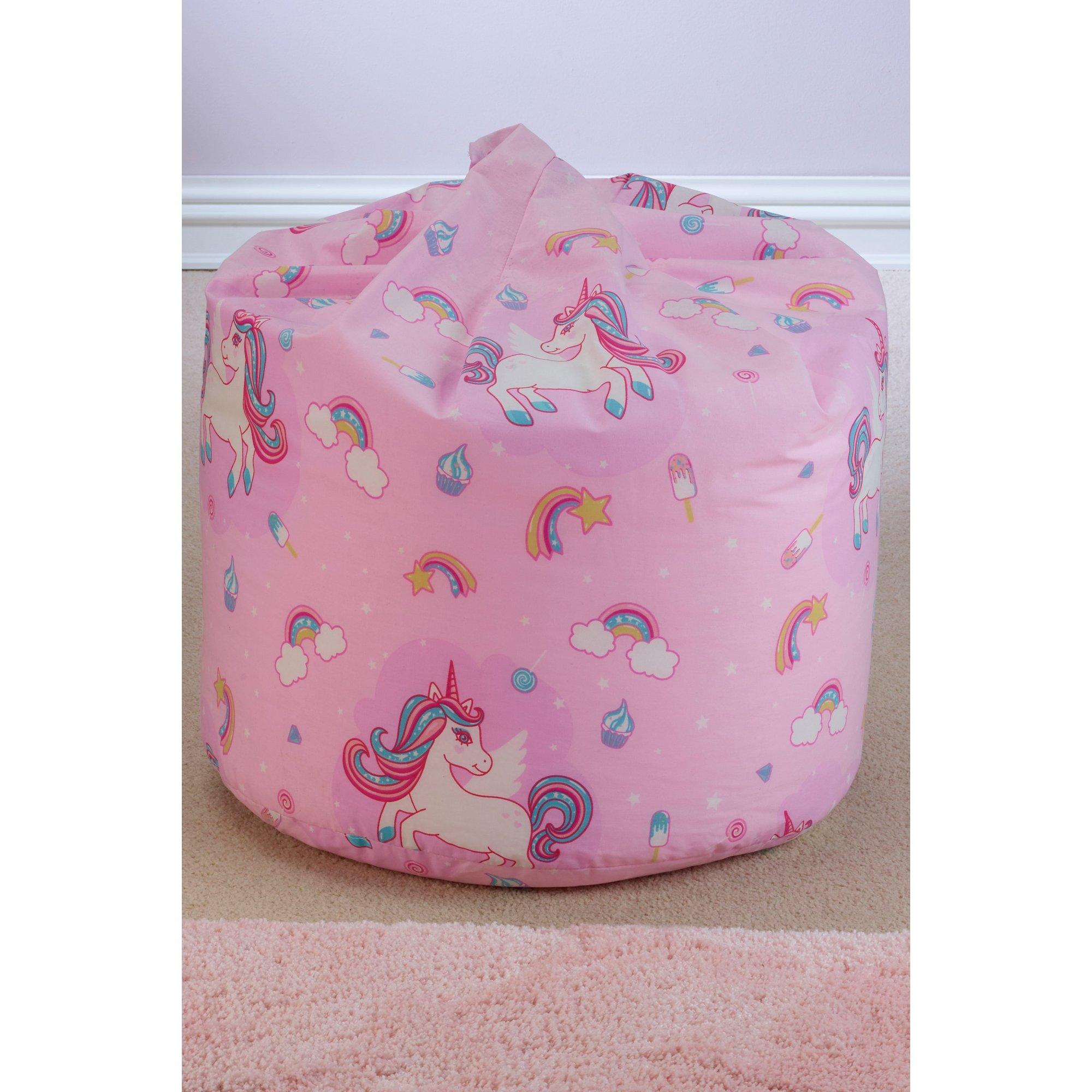 Image of Kids Unicorn Bean Bag