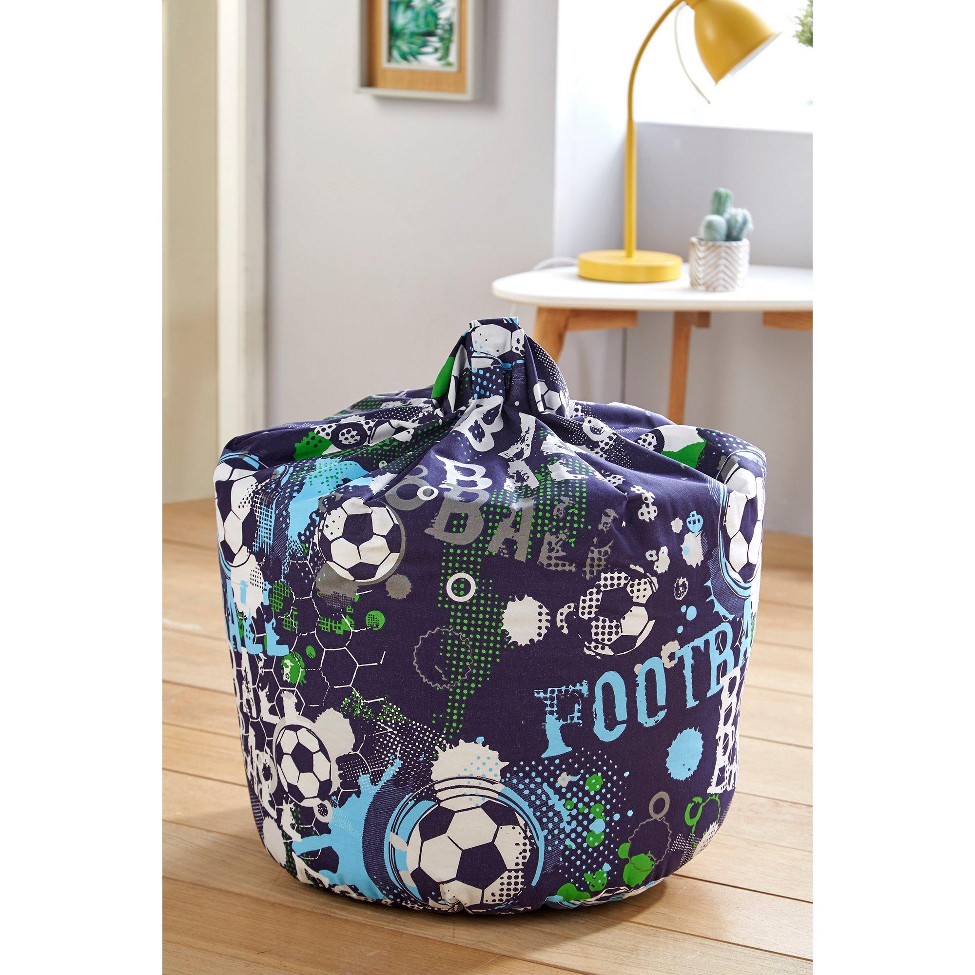 Image of Kids Football Bean Bag