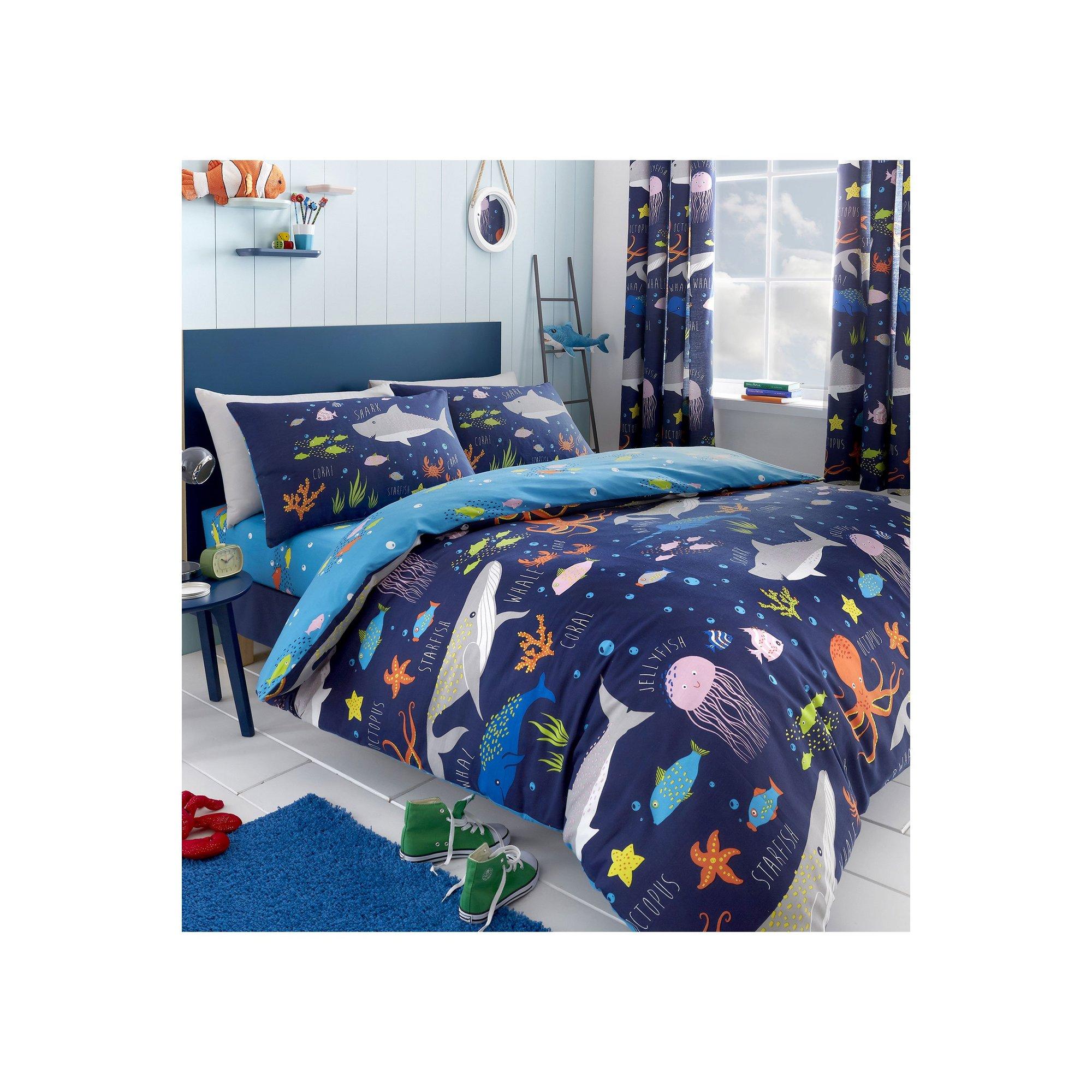 Image of Sea Life Reversible Duvet Set