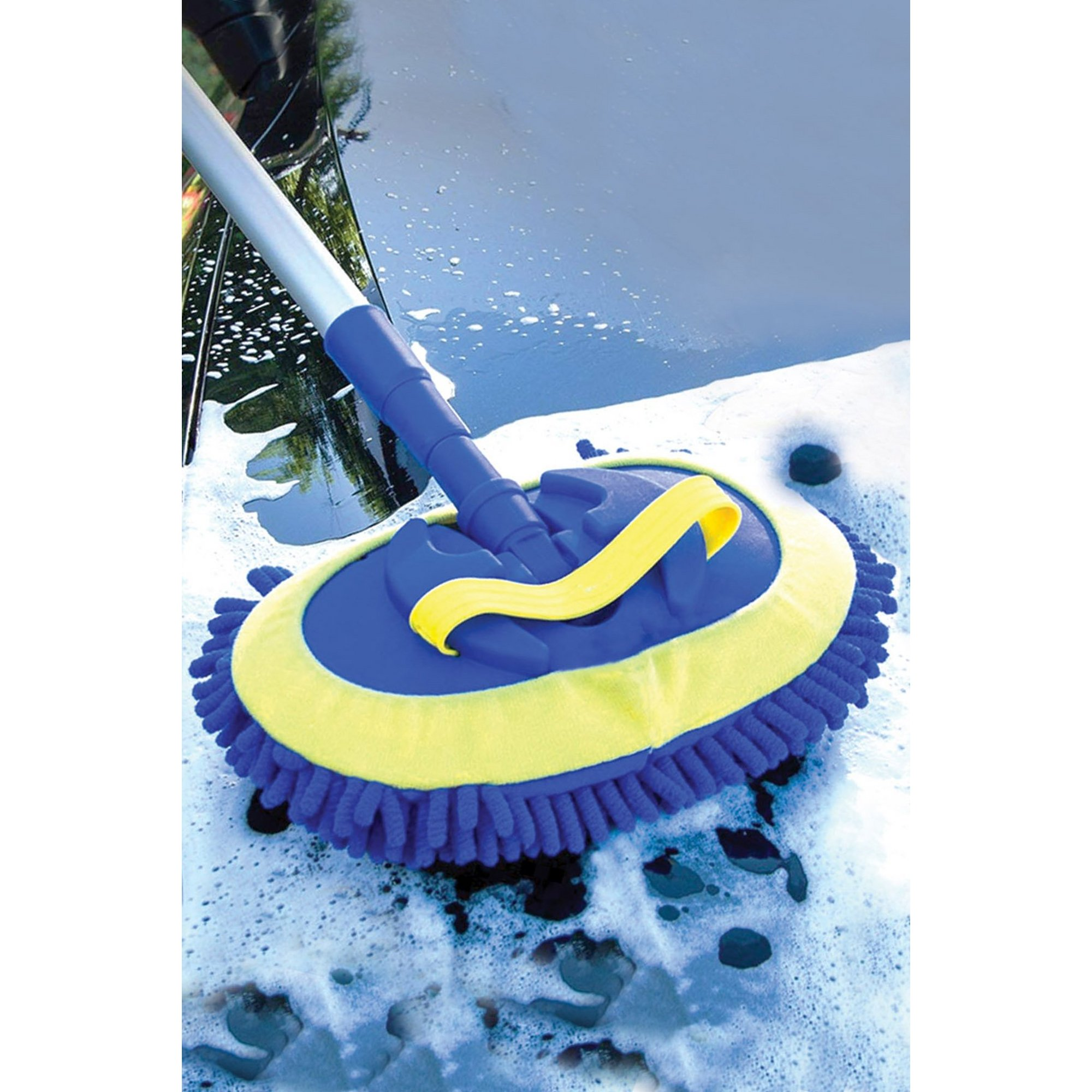 Image of Telescopic Water Flow Brush with Chenille Head