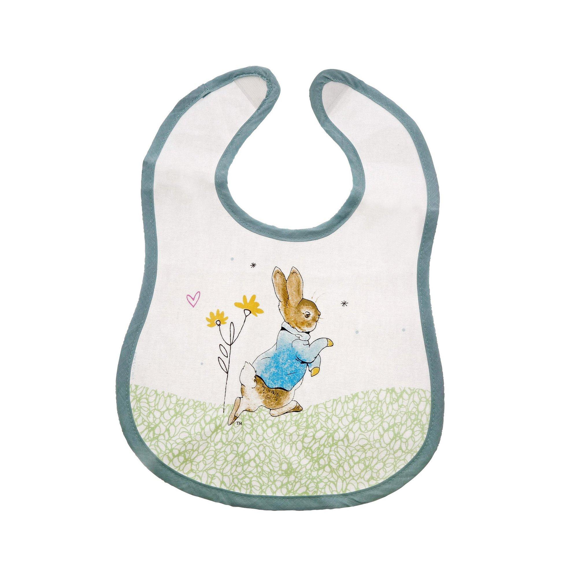 Image of Beatrix Potter Peter Rabbit Bib