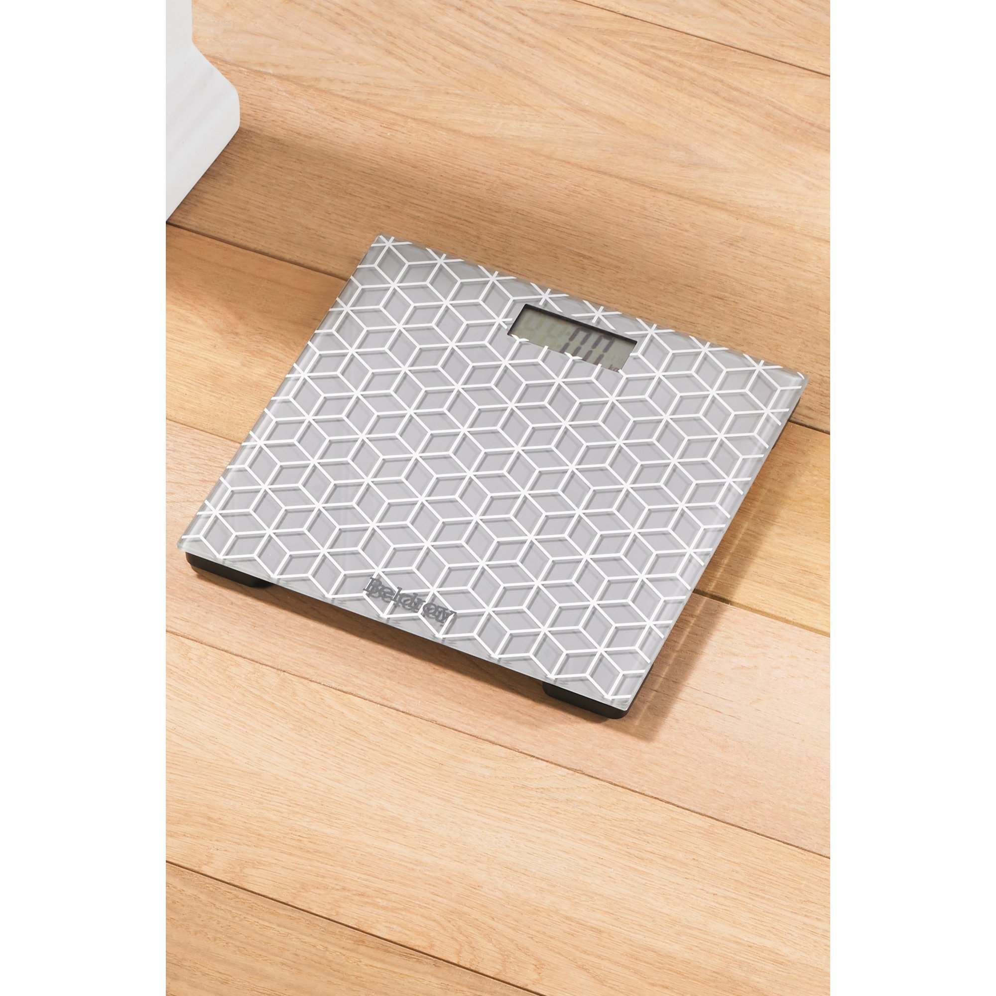 Image of Geometric Bathroom Scales