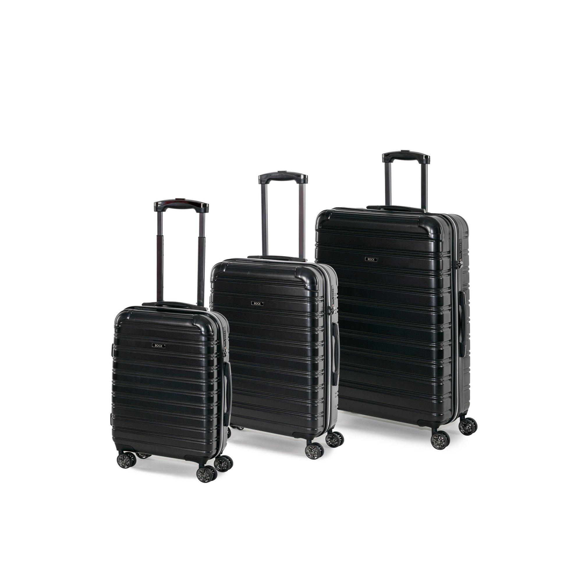 Image of Rock Chicago 3-Piece Suitcase Set