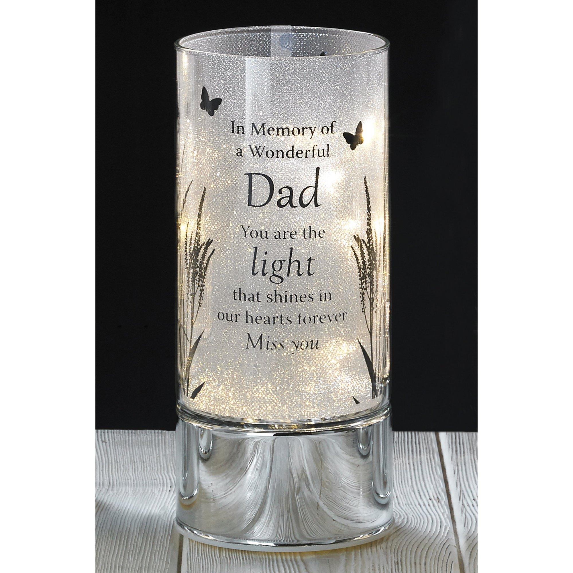 Image of Dad LED Memorial Light