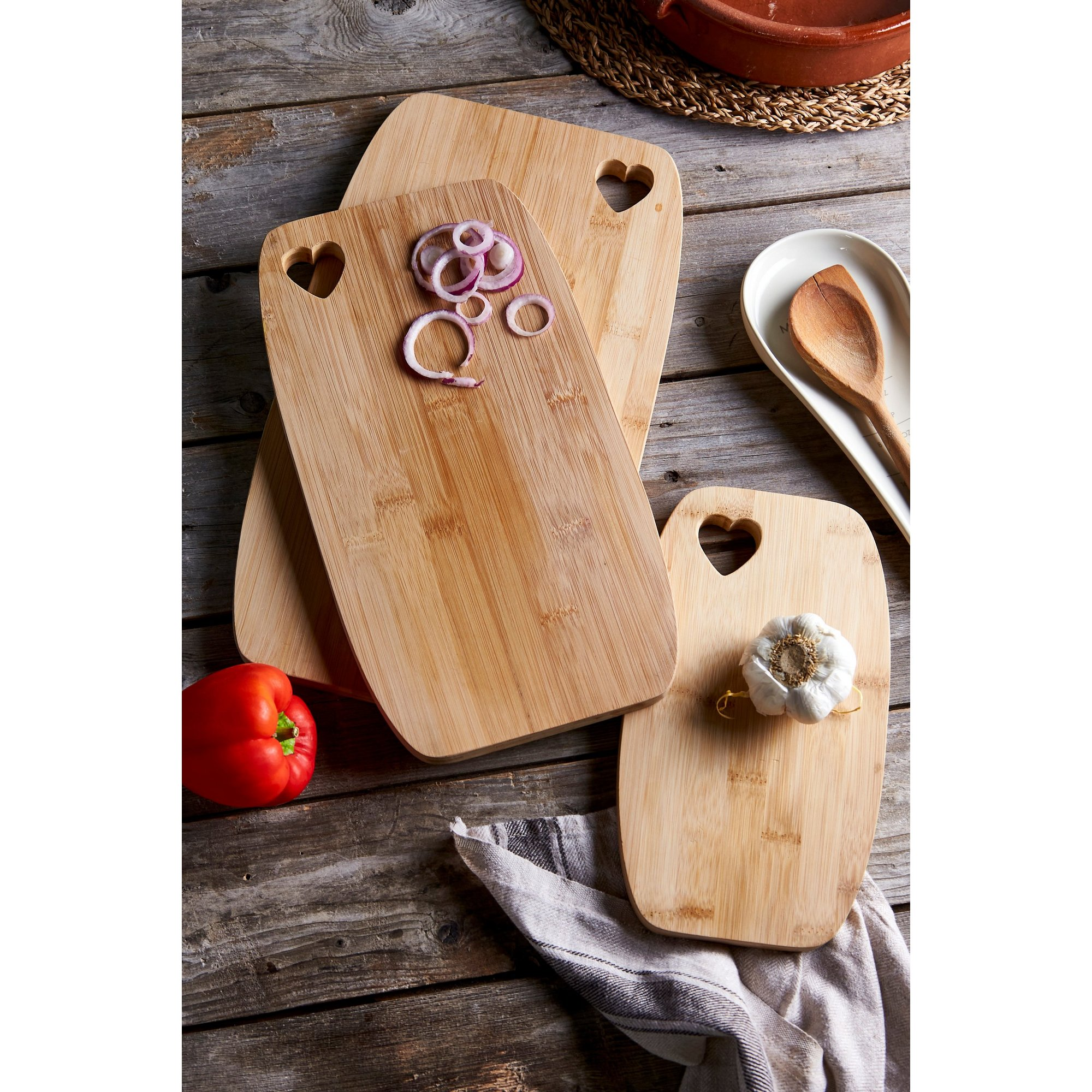 Image of 3-Piece Chopping Board Set