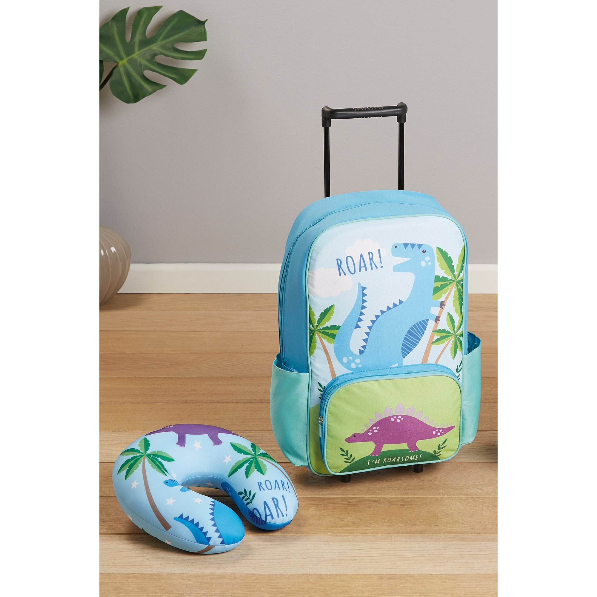 Image of Childrens Dinosaur Travel Set