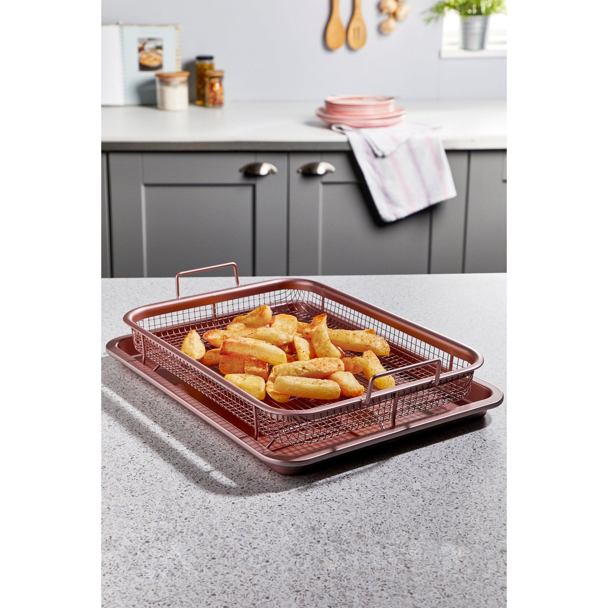 Image of Pink Crisper Tray Set