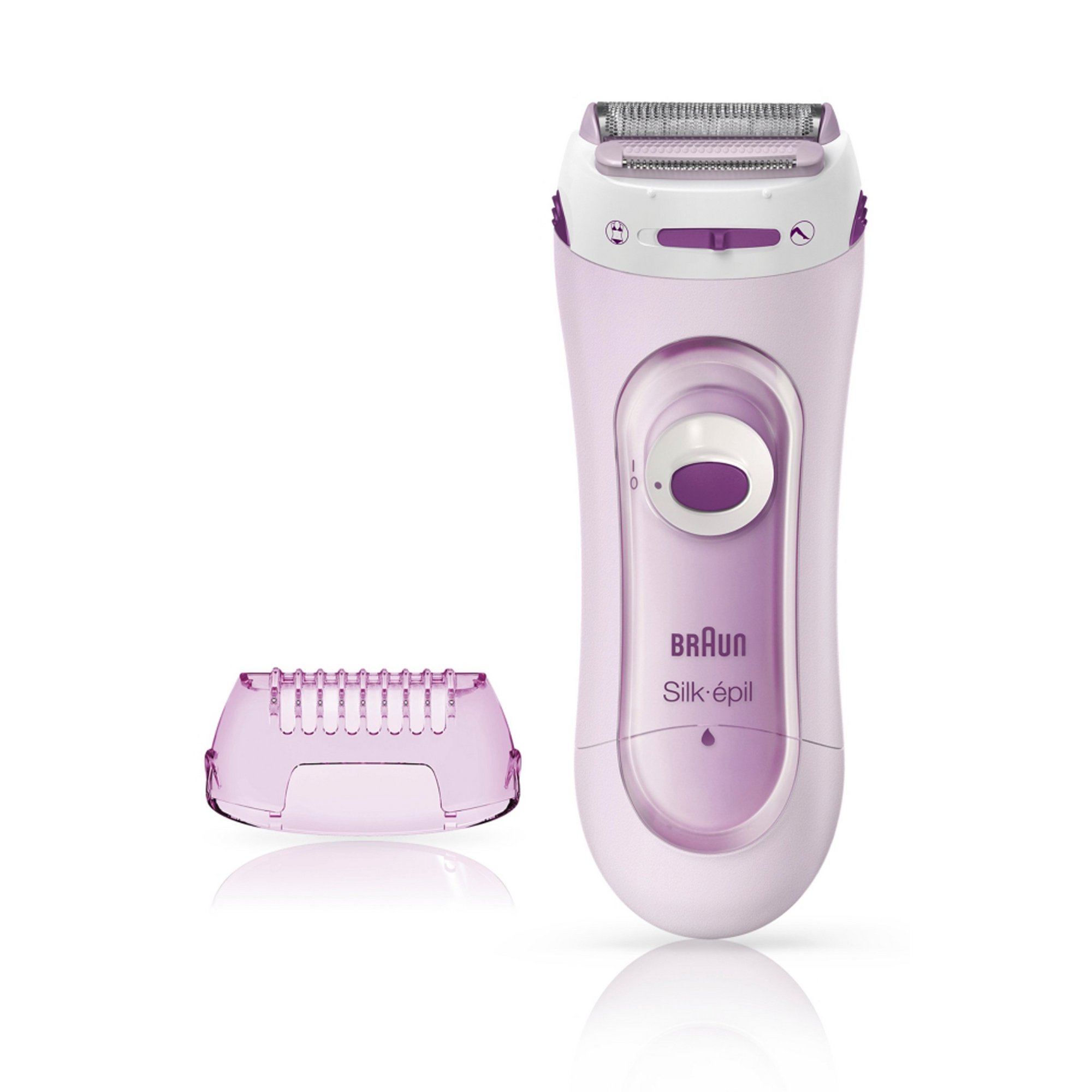 Image of Braun Silk and Soft Body Shaver