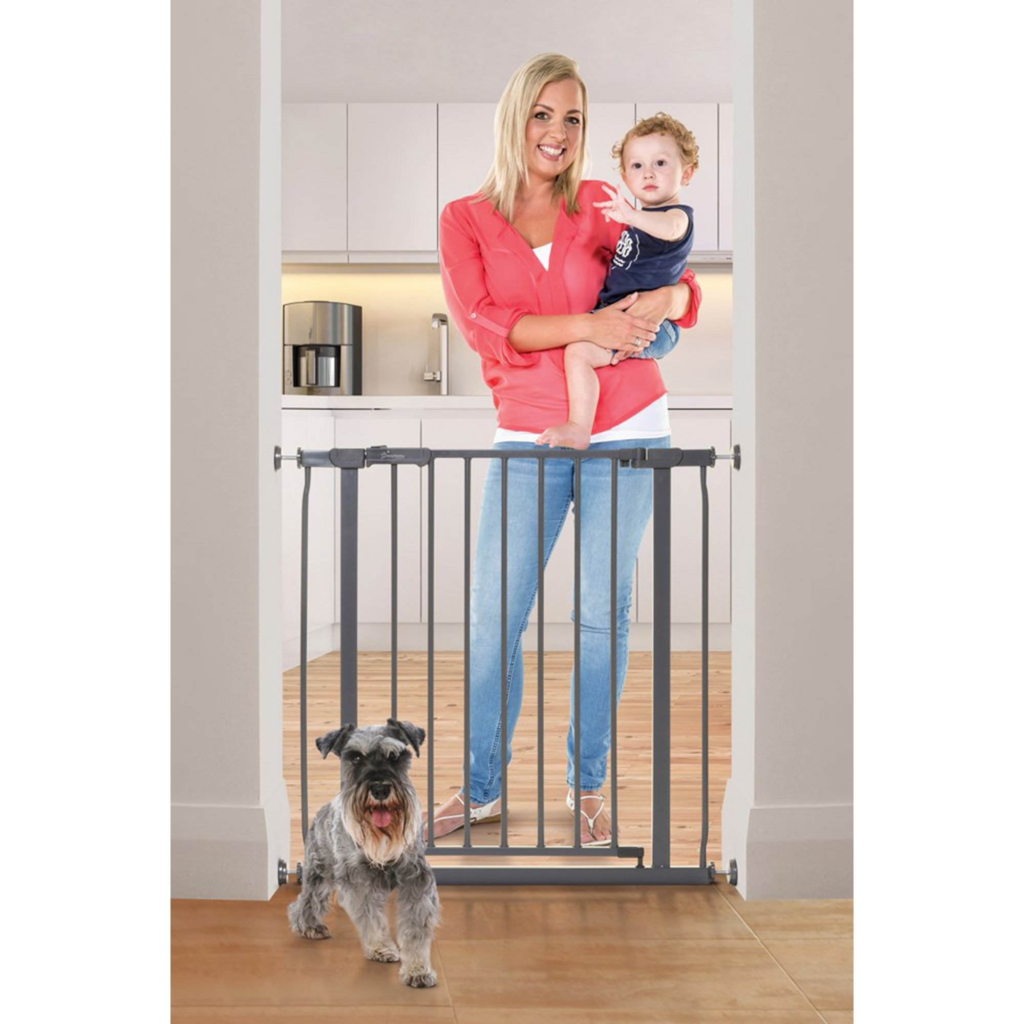 Image of Ava Metal Safety Gate - Pressure Mounted