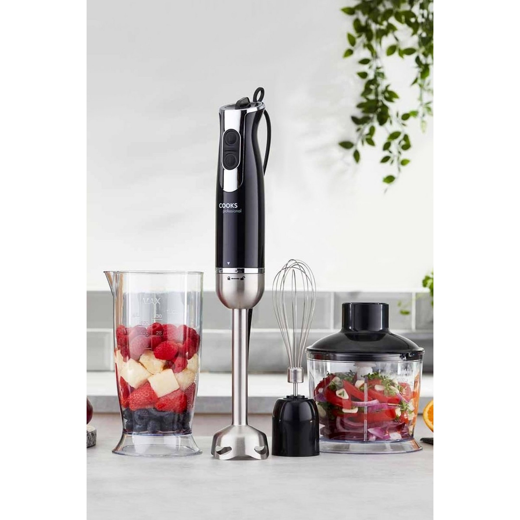 Image of Cooks Professional 1000W 3-in-1 Handheld Stick Blender
