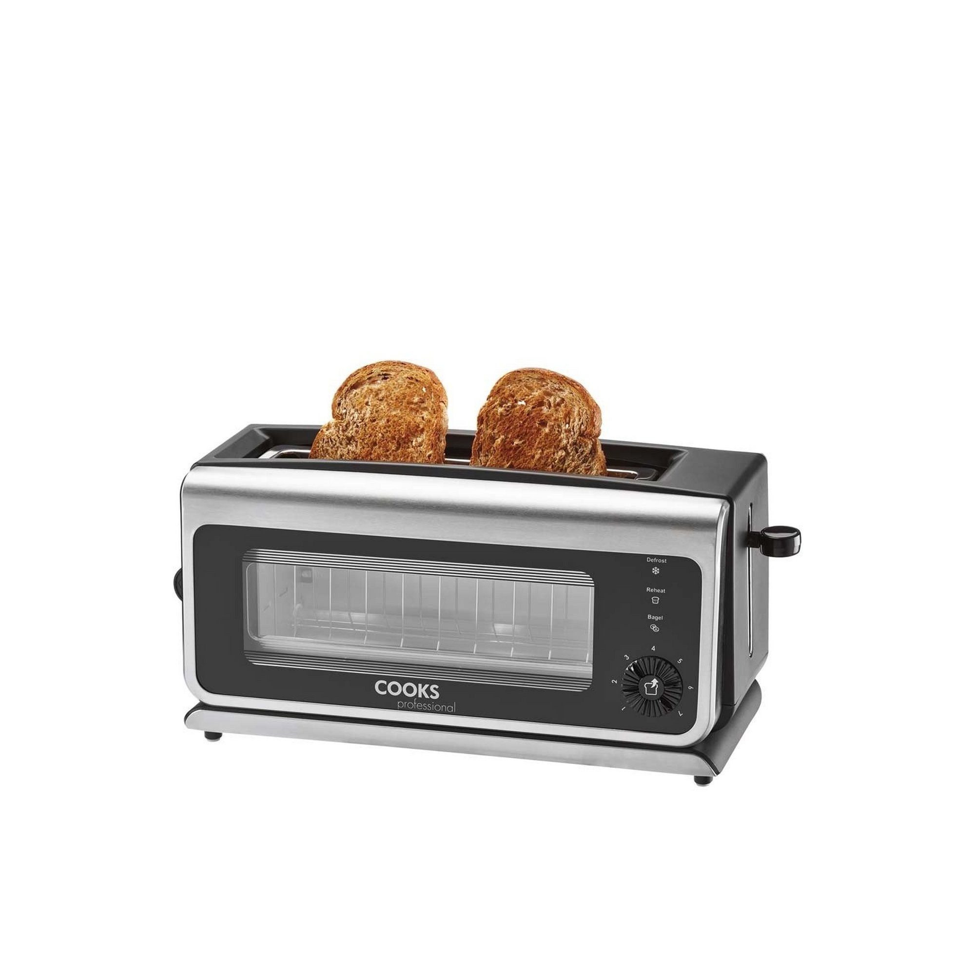 Image of Cooks Professional Glass Toaster
