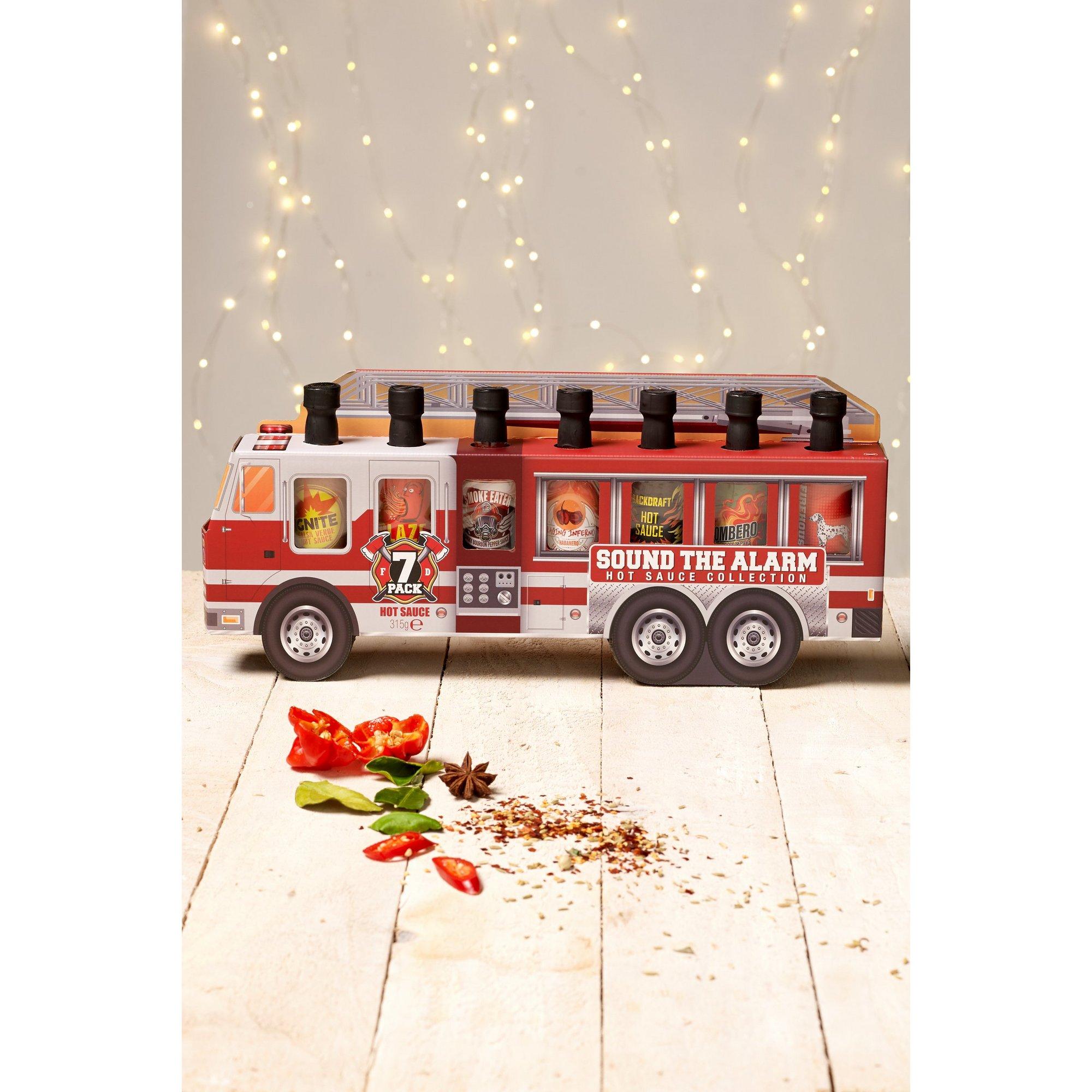 Image of Fire Truck Hot Sauce Sampler