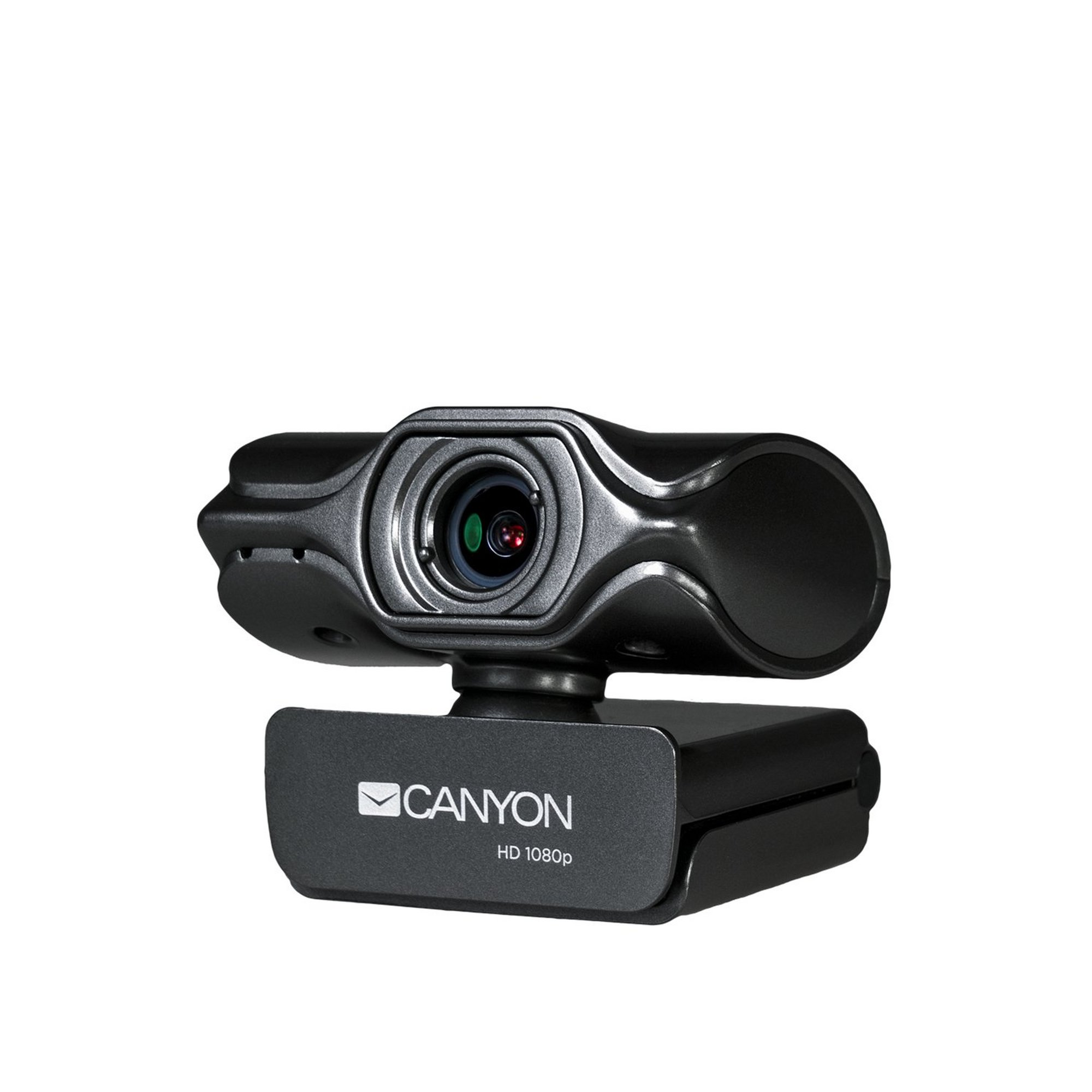 Image of Canyon 2K Quad HD USB Webcam with Integrated Microphone - Black