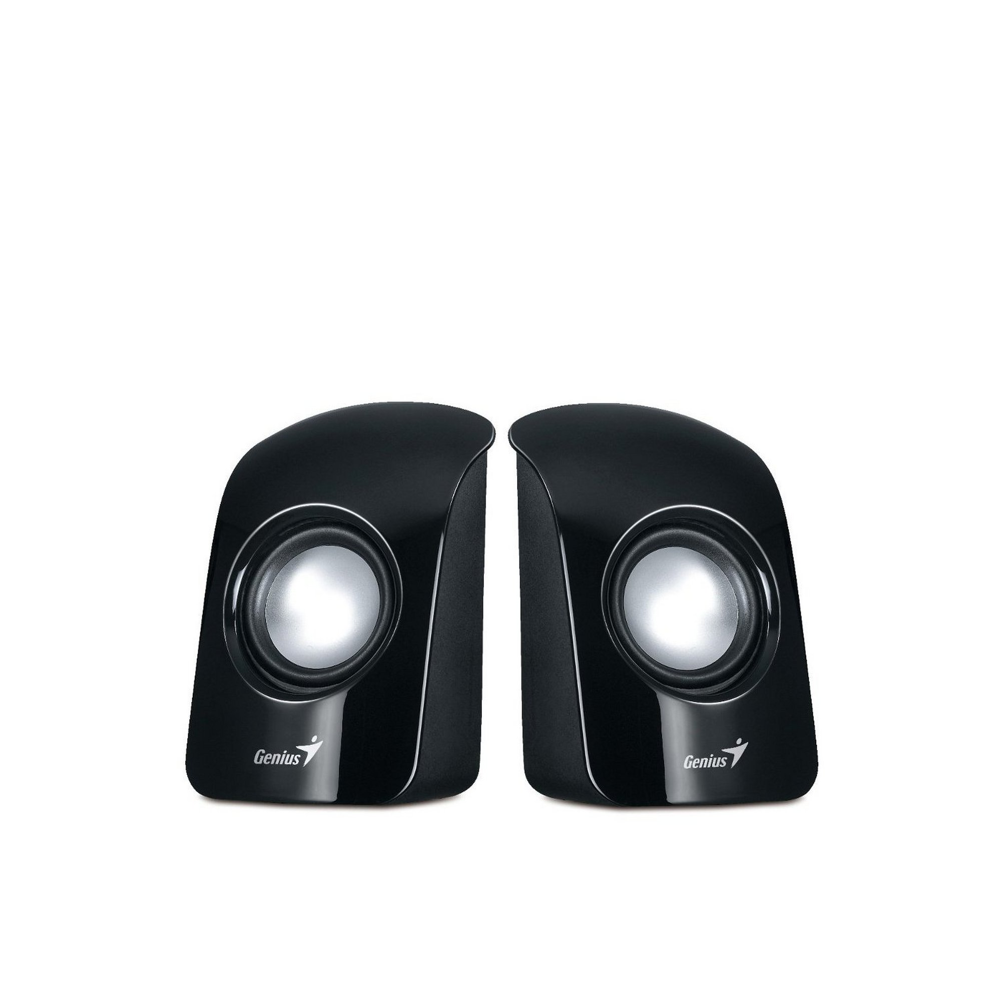 Image of Genius Compact USB Powered 2.0 Computer PC and Laptop Speakers