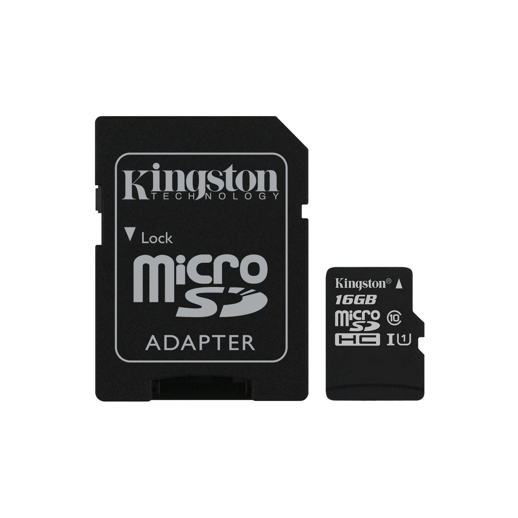 Image of Kingston Class 10 Micro SD Card with Adapter