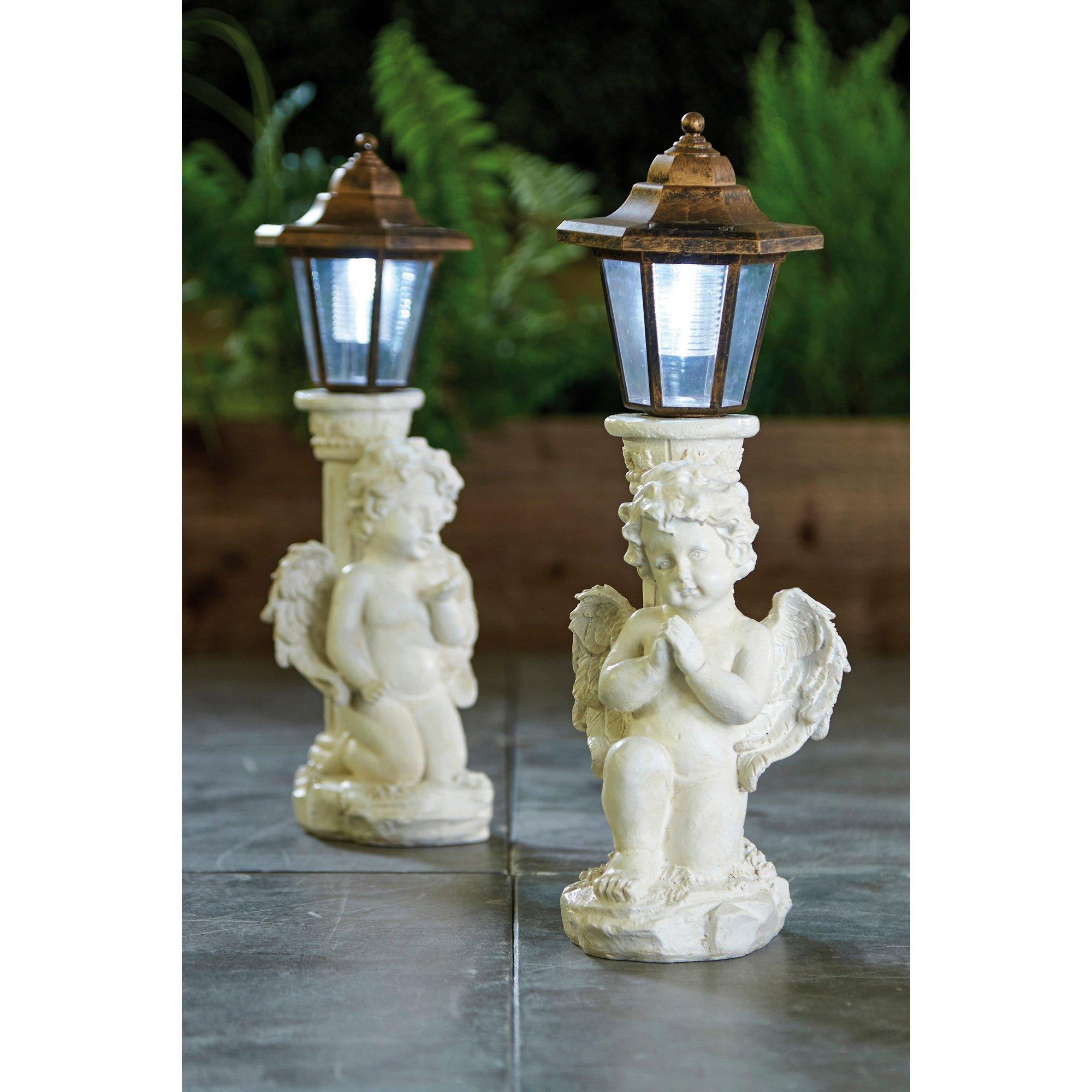 Image of Pair of Solar Angel Lanterns