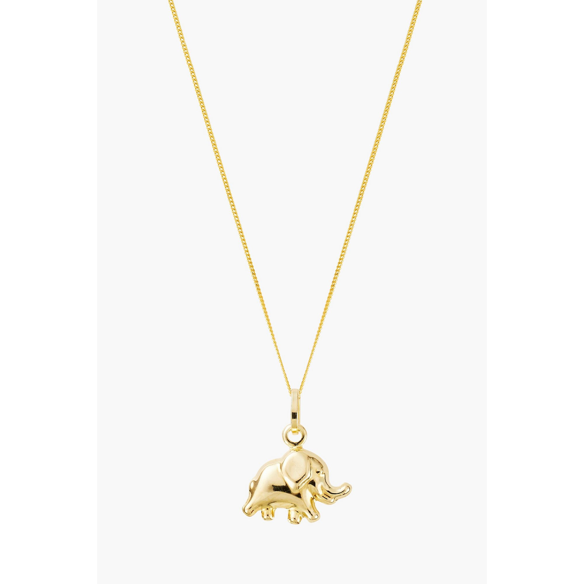 Image of 9ct Gold Mini Elephant Pendant