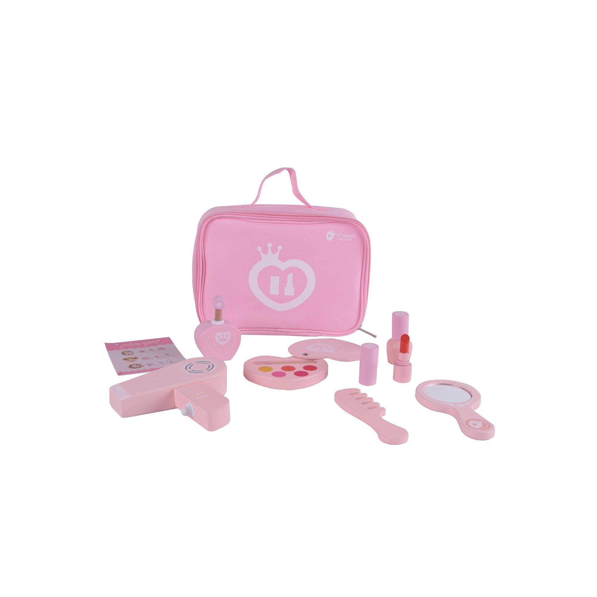 Image of Classic World - 9 Piece Pink Makeup Set