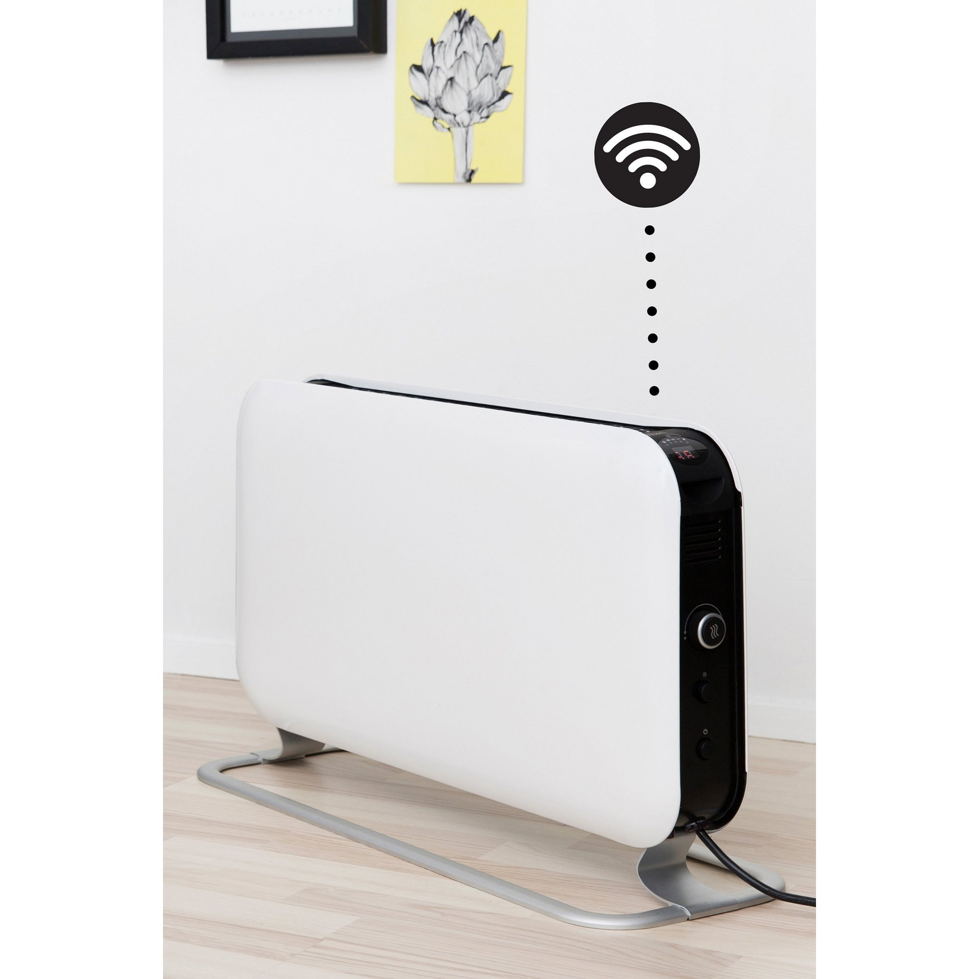 Image of Mill Heat WiFi 1200w LED Convector Heater