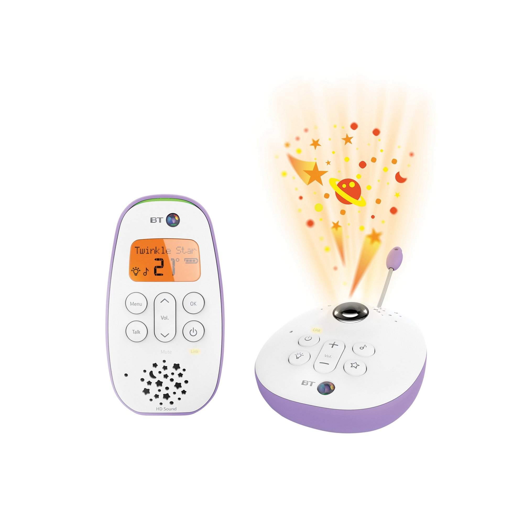 Image of BT Audio Baby Monitor 450