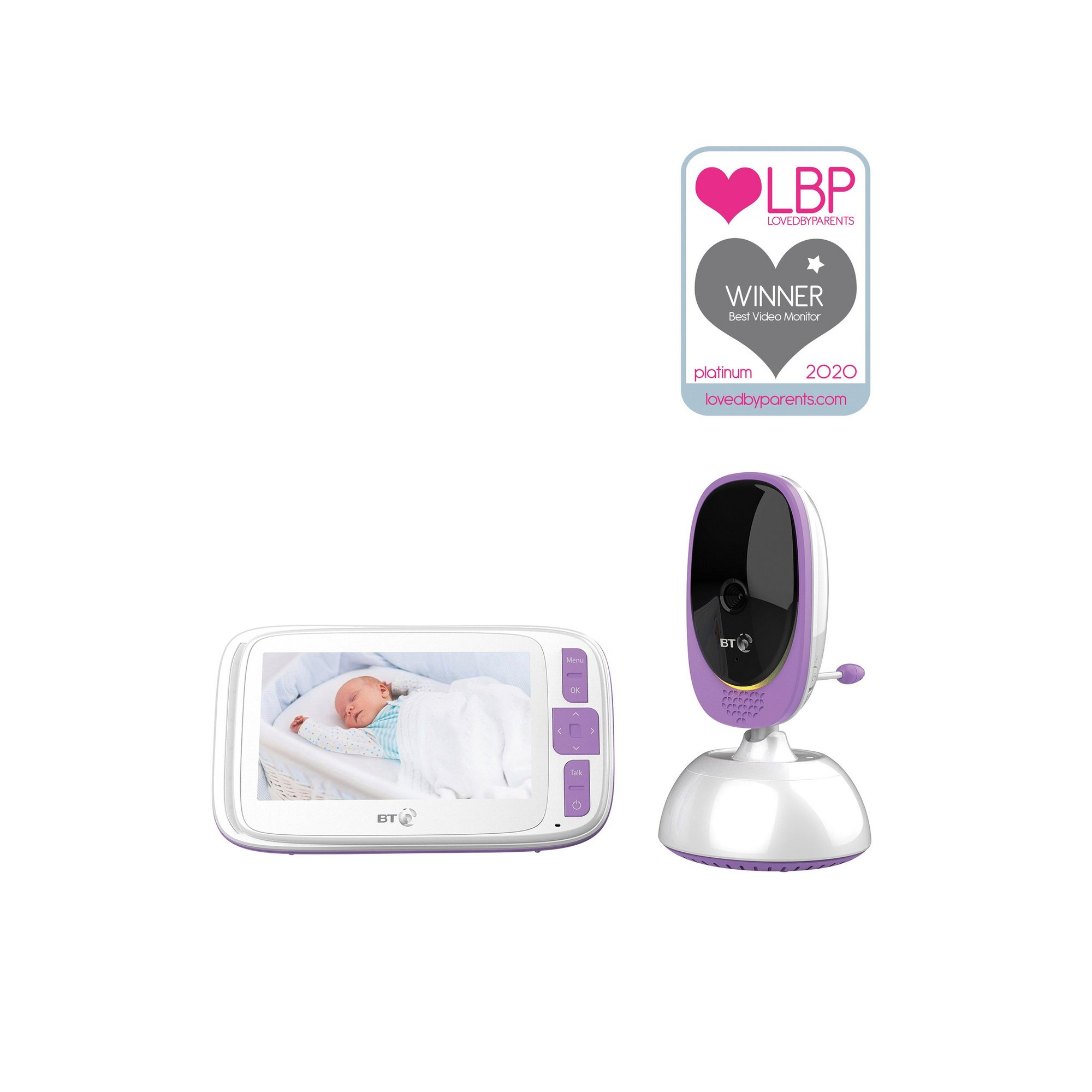 Image of BT Smart Video Baby Monitor 5 Inch Screen